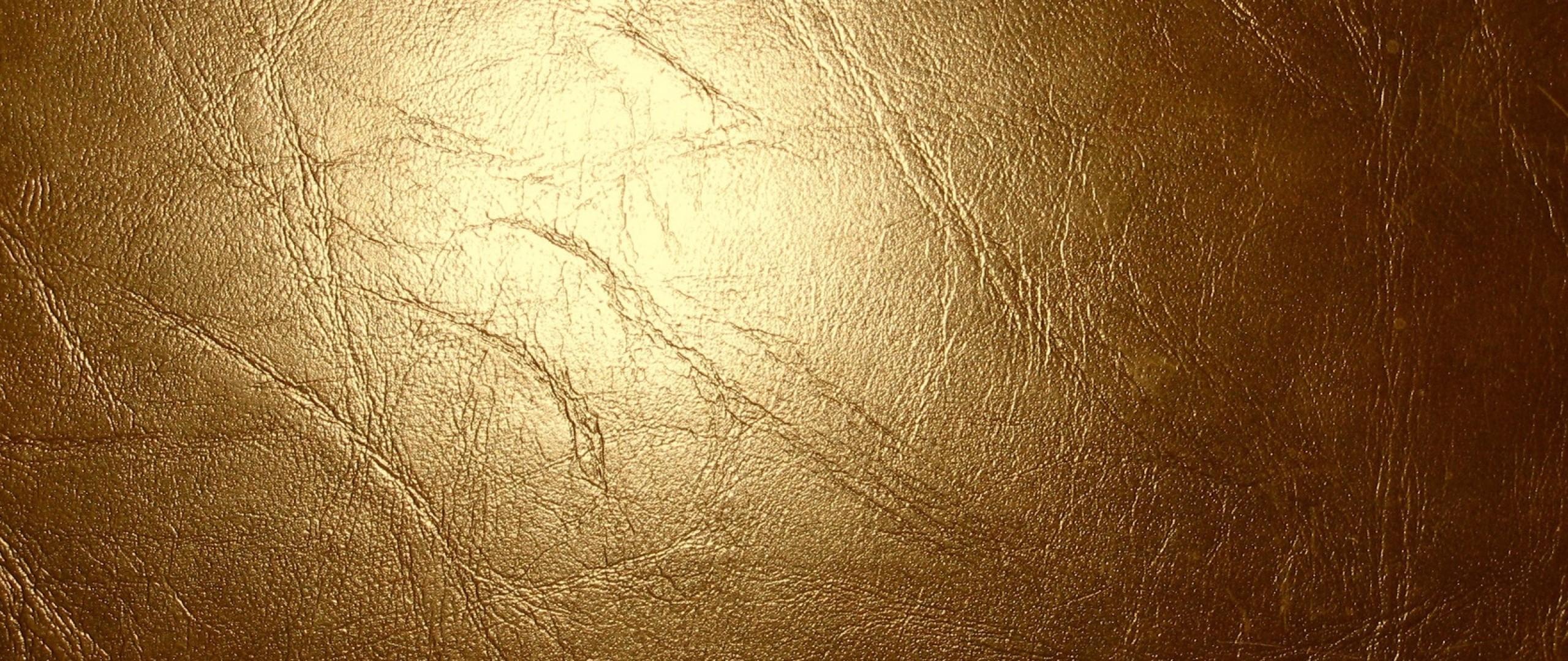 Wallpaper leather, gold, glitter, cracks, texture