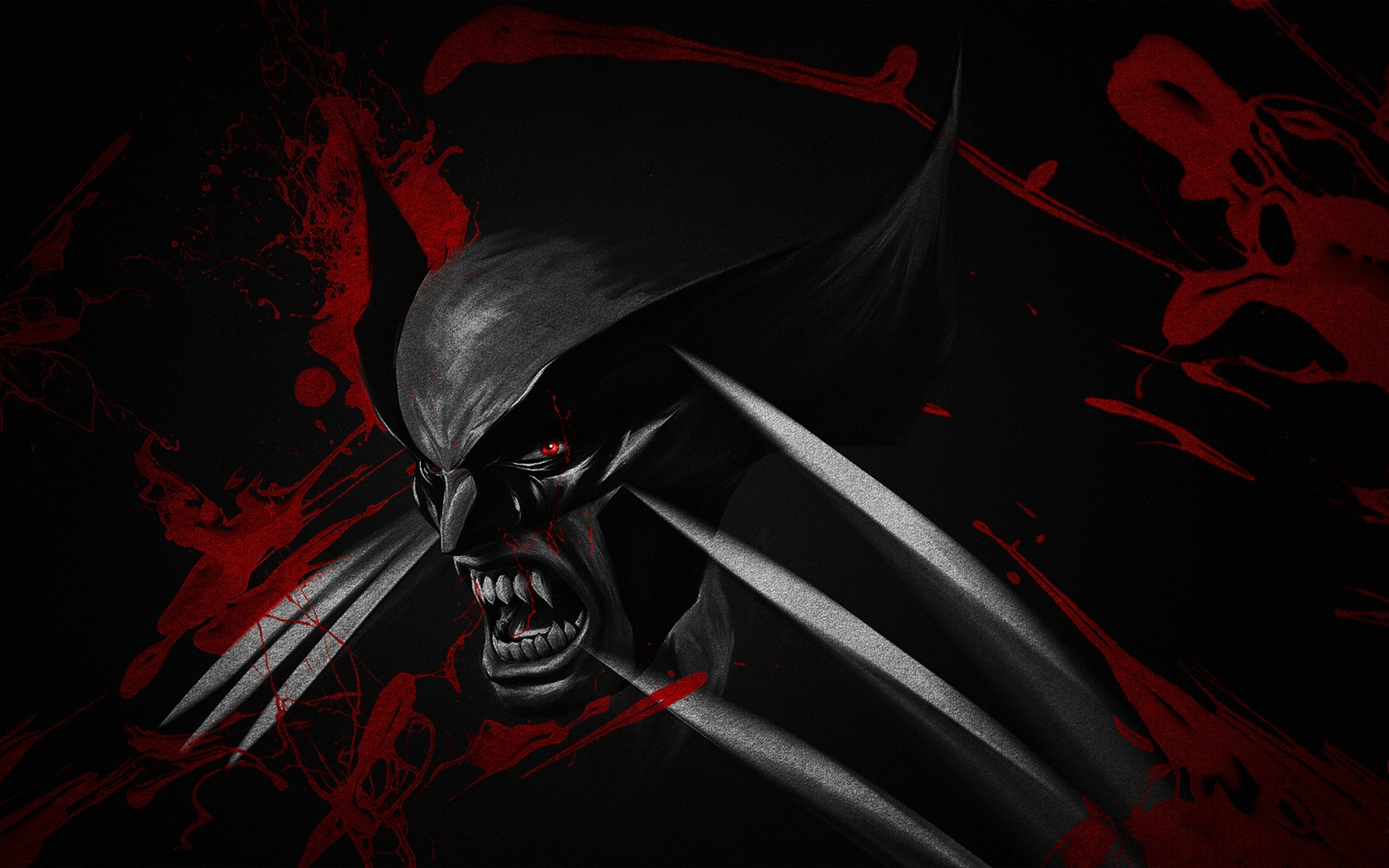 Wallpaper HD Black and Red Wolverine – HD Wallpaper Expert