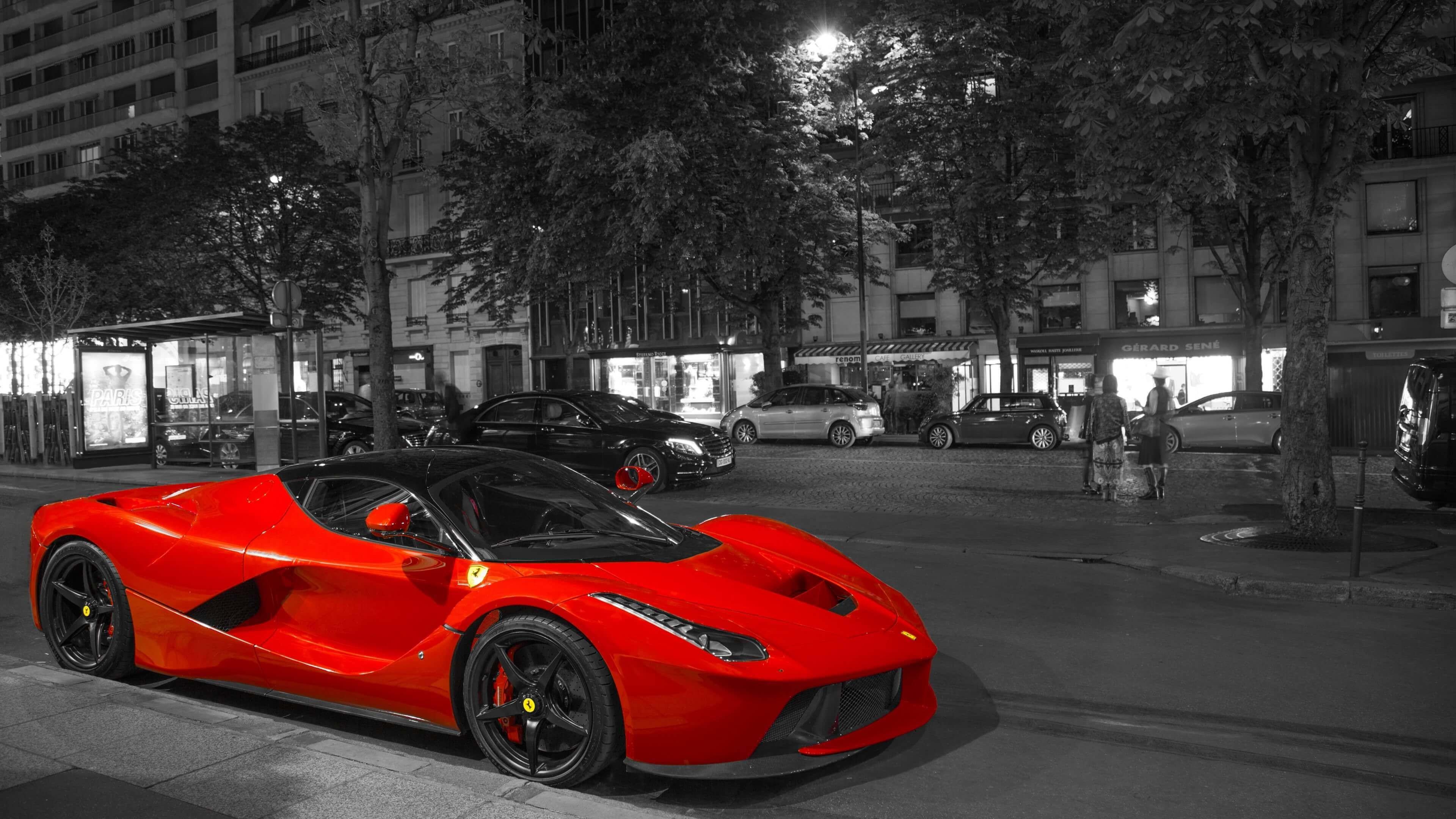 Ferrari LaFerrari Color Effect wallpaper