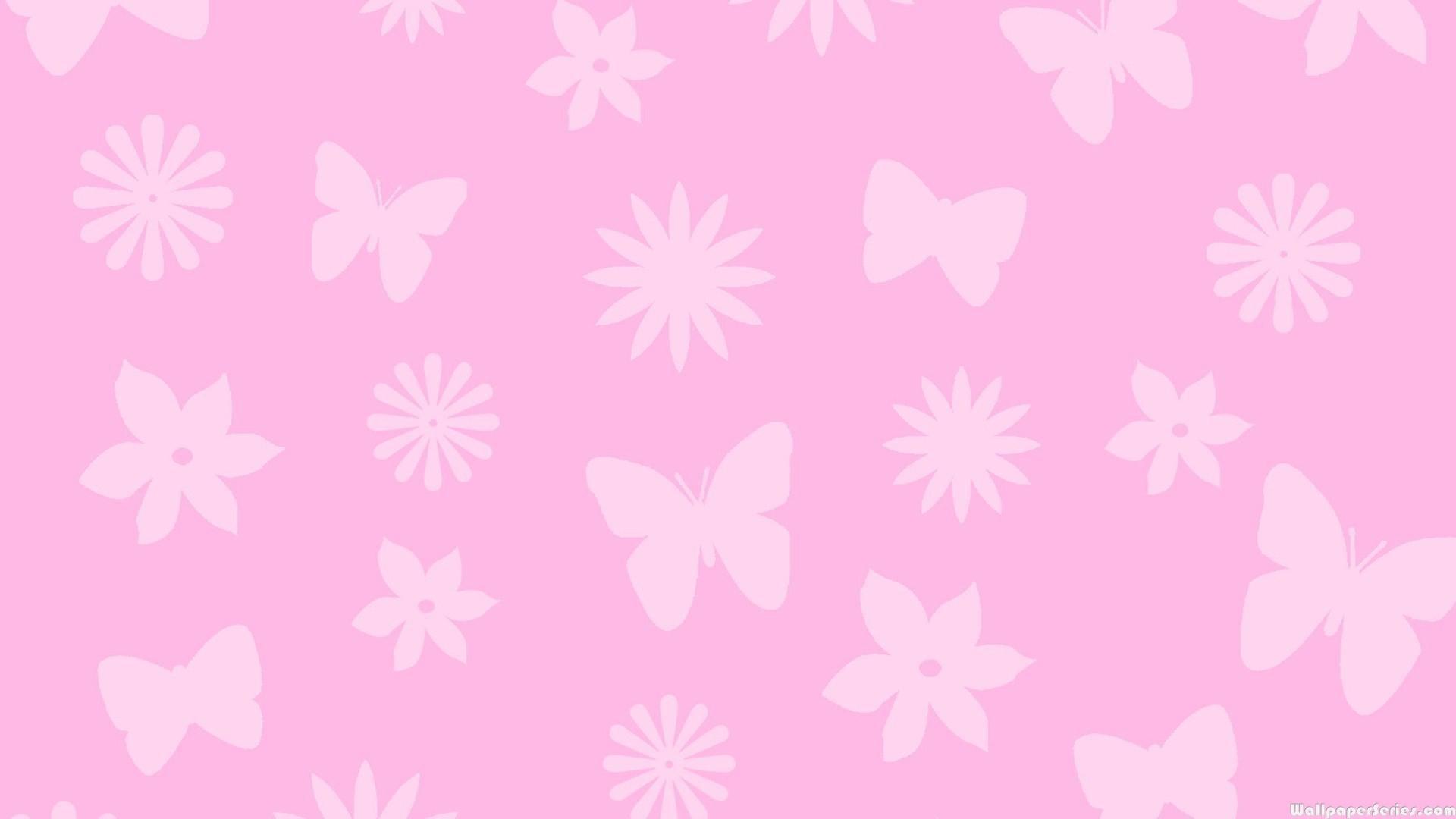 Pink Butterfly Wallpaper Hd