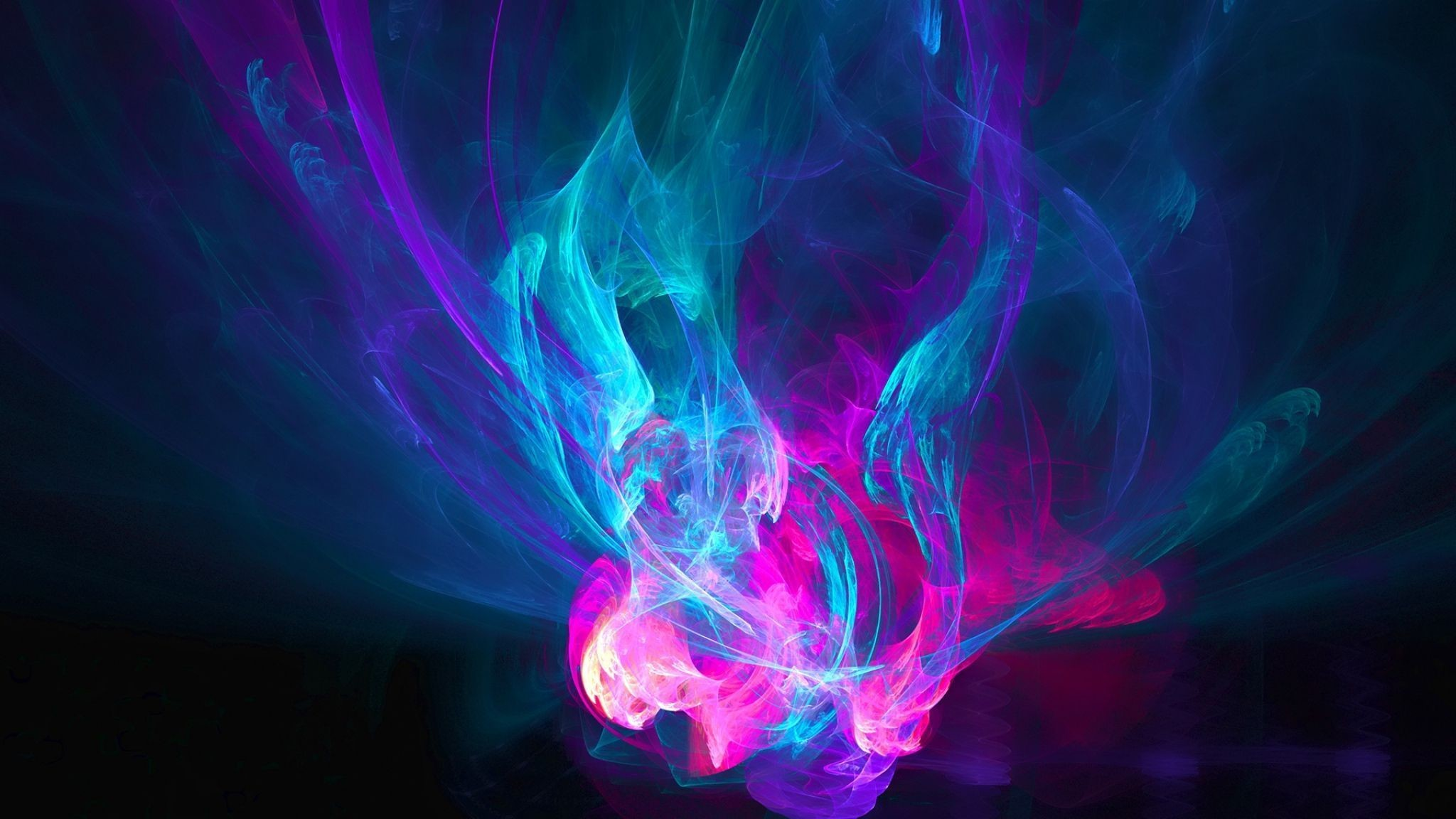 Download Wallpaper Abstraction, Light, Pink, Blue .