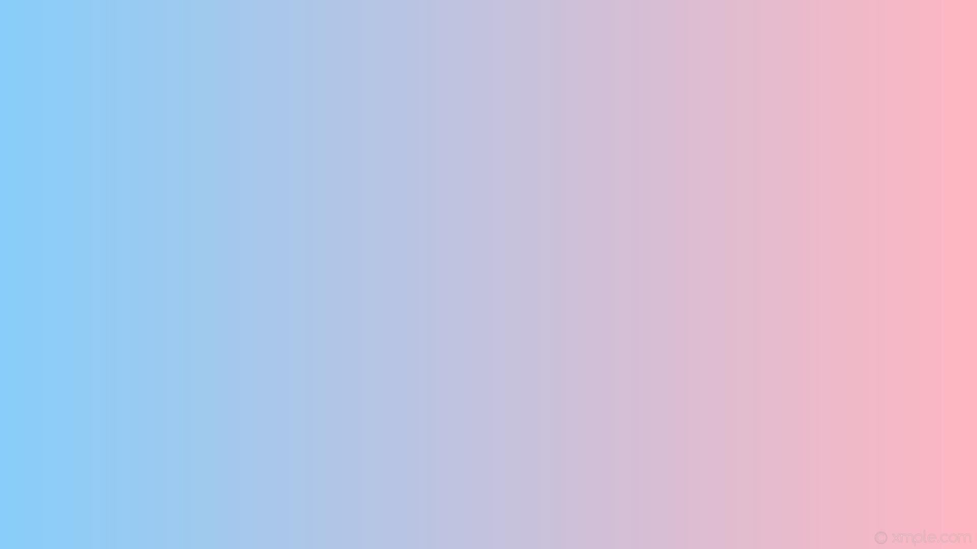 wallpaper blue pink gradient linear light pink light sky blue #ffb6c1  #87cefa 0°