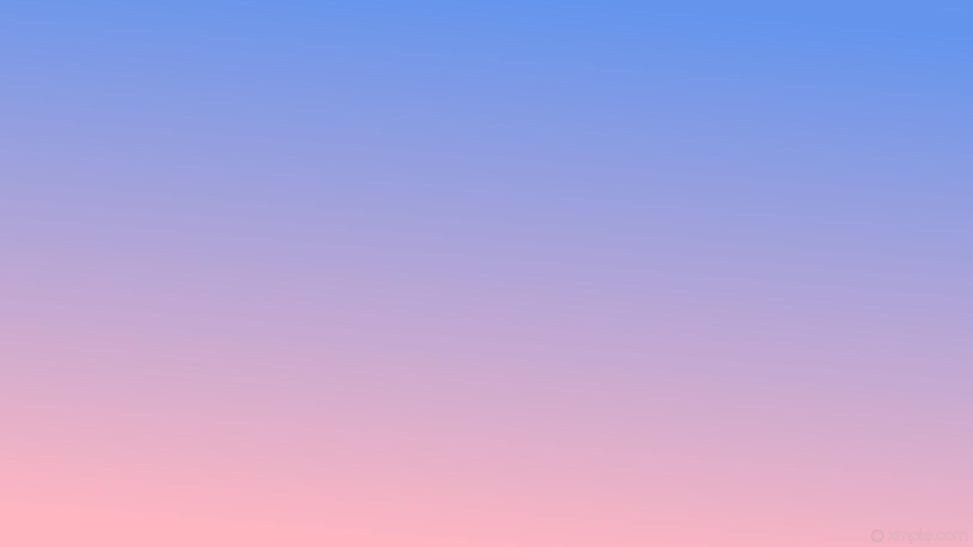 wallpaper blue pink gradient linear light pink cornflower blue #ffb6c1  #6495ed 255°