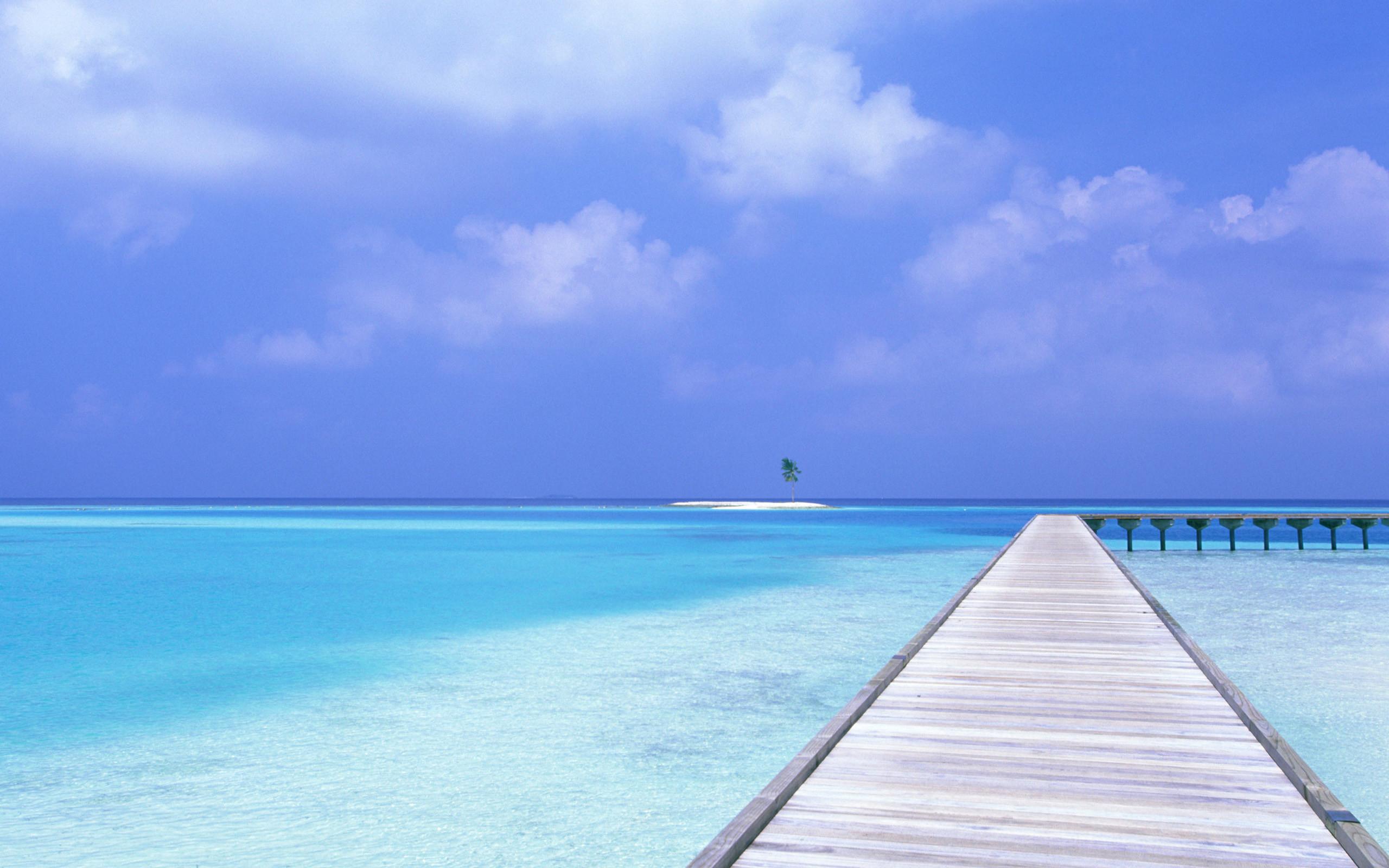 Blue Sky Blue Water