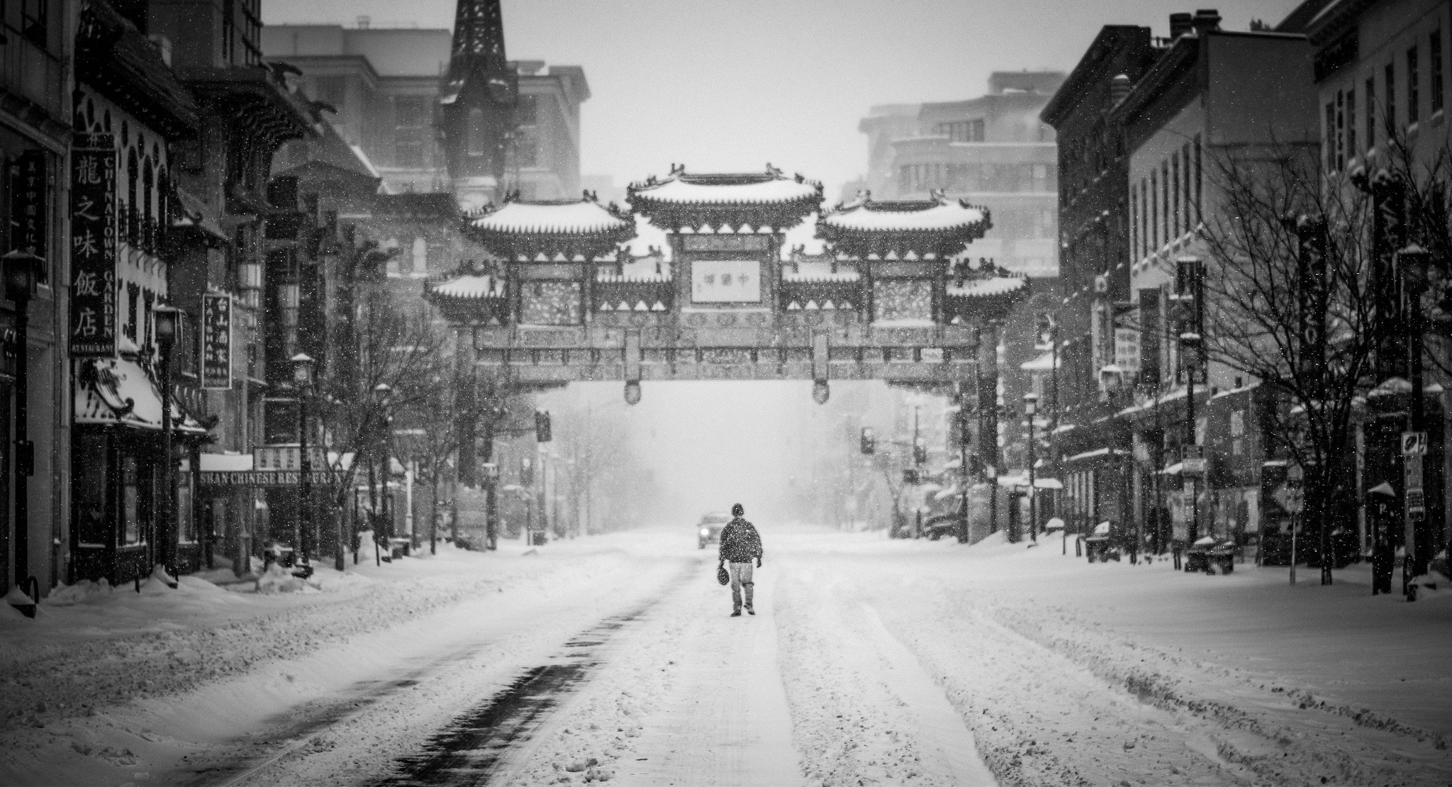 Free Images : person, cold, black and white, architecture, road, street,  car, building, alley, city, cityscape, asian, store, weather, lane, season,  flake, …