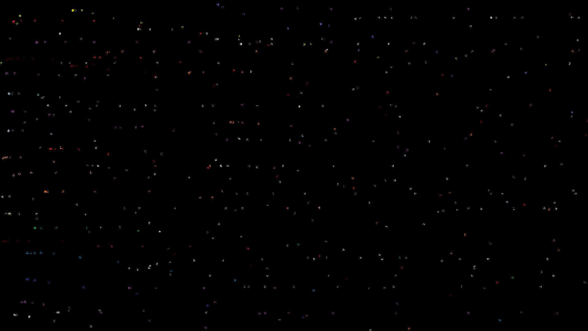 Sky effect black wallpaper