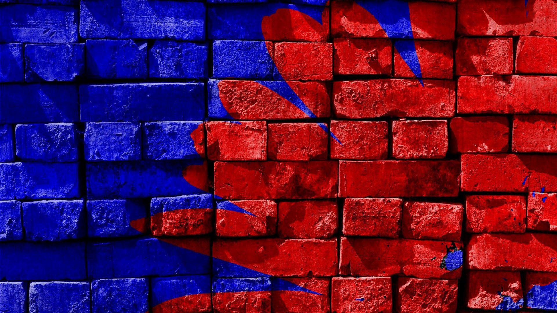 wallpaper.wiki-Blue-And-Red-Backgrounds-Desktop-PIC-