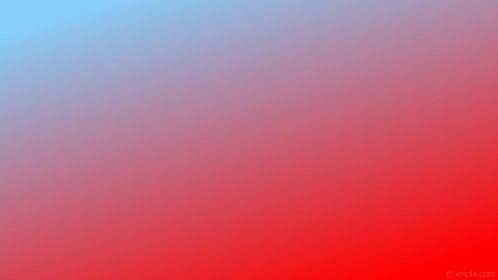 wallpaper gradient linear red blue light sky blue #ff0000 #87cefa 315°