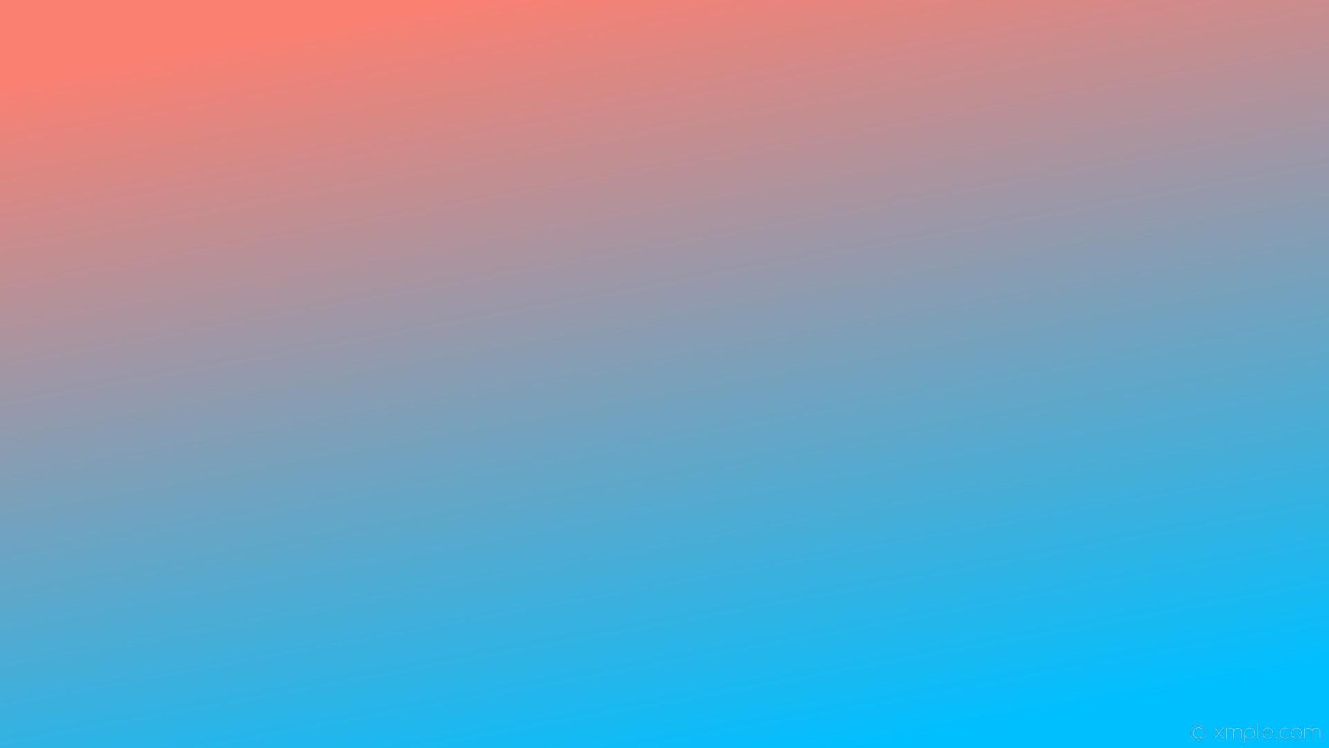 wallpaper red linear blue gradient salmon deep sky blue #fa8072 #00bfff 120°