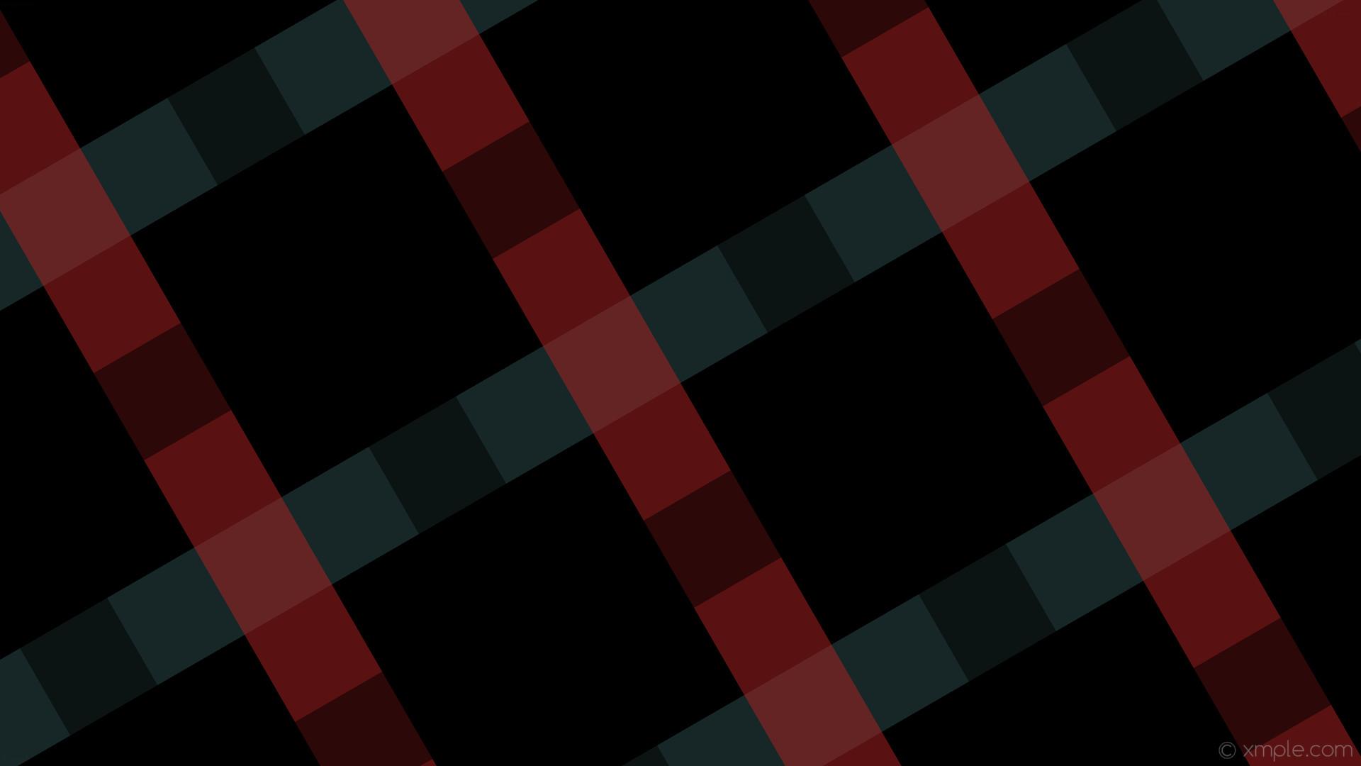 wallpaper quad gingham black striped grey red dark slate gray fire brick  #000000 #2f4f4f