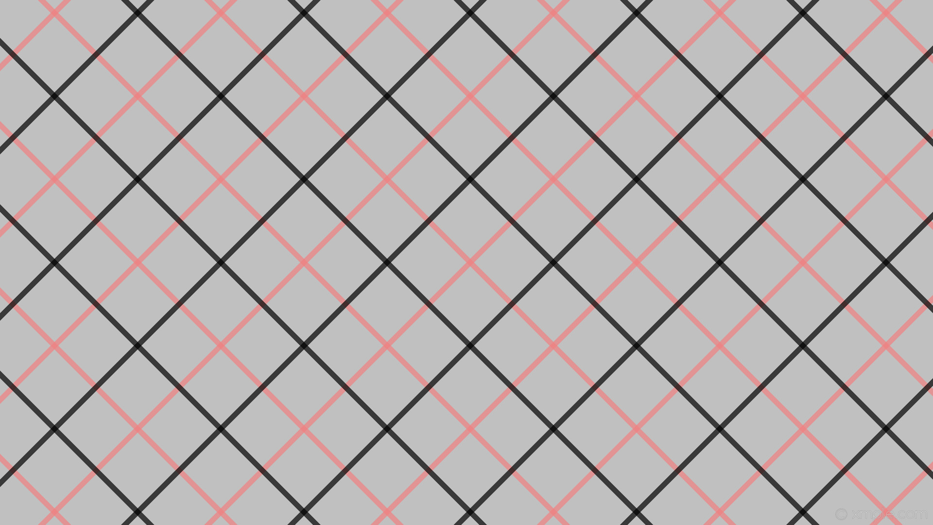 wallpaper red stripes grey black gingham tattersall silver light coral  #c0c0c0 #f08080 #000000