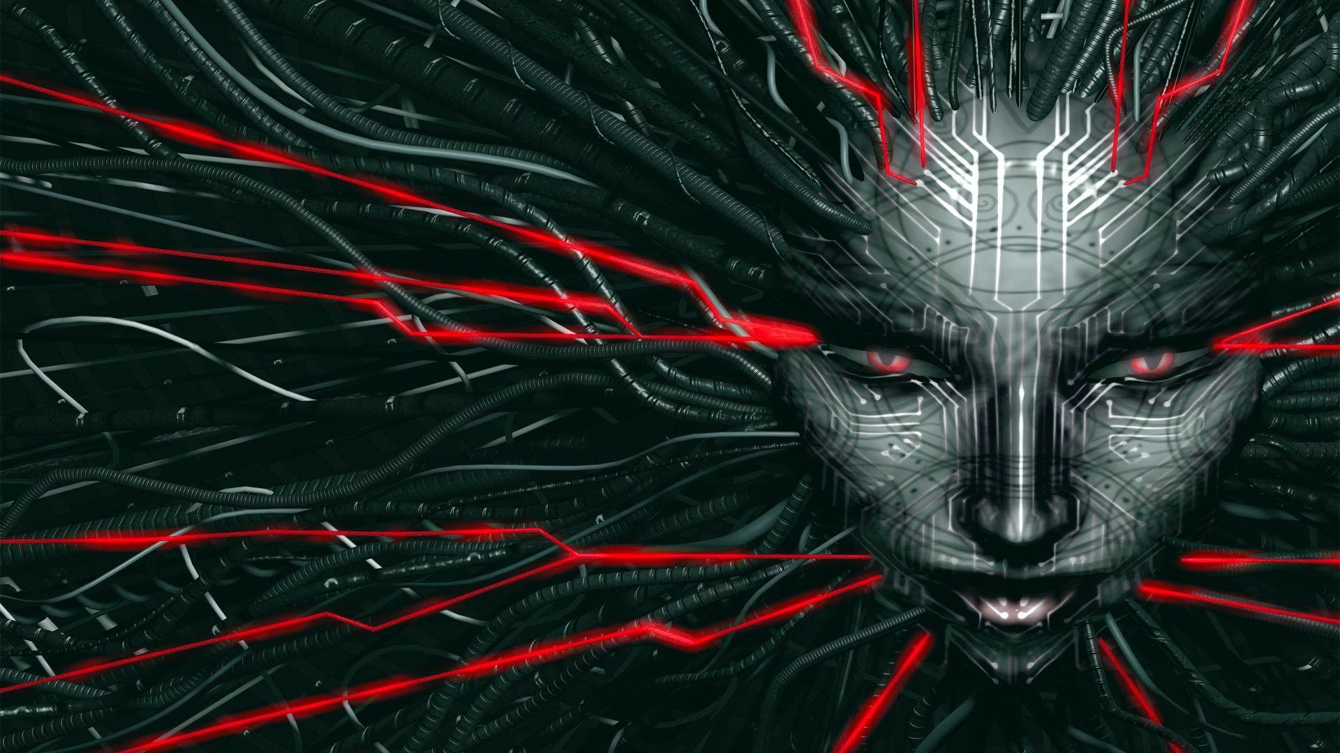 … Shodan – red/grey (System Shock) by JaxxTraxx