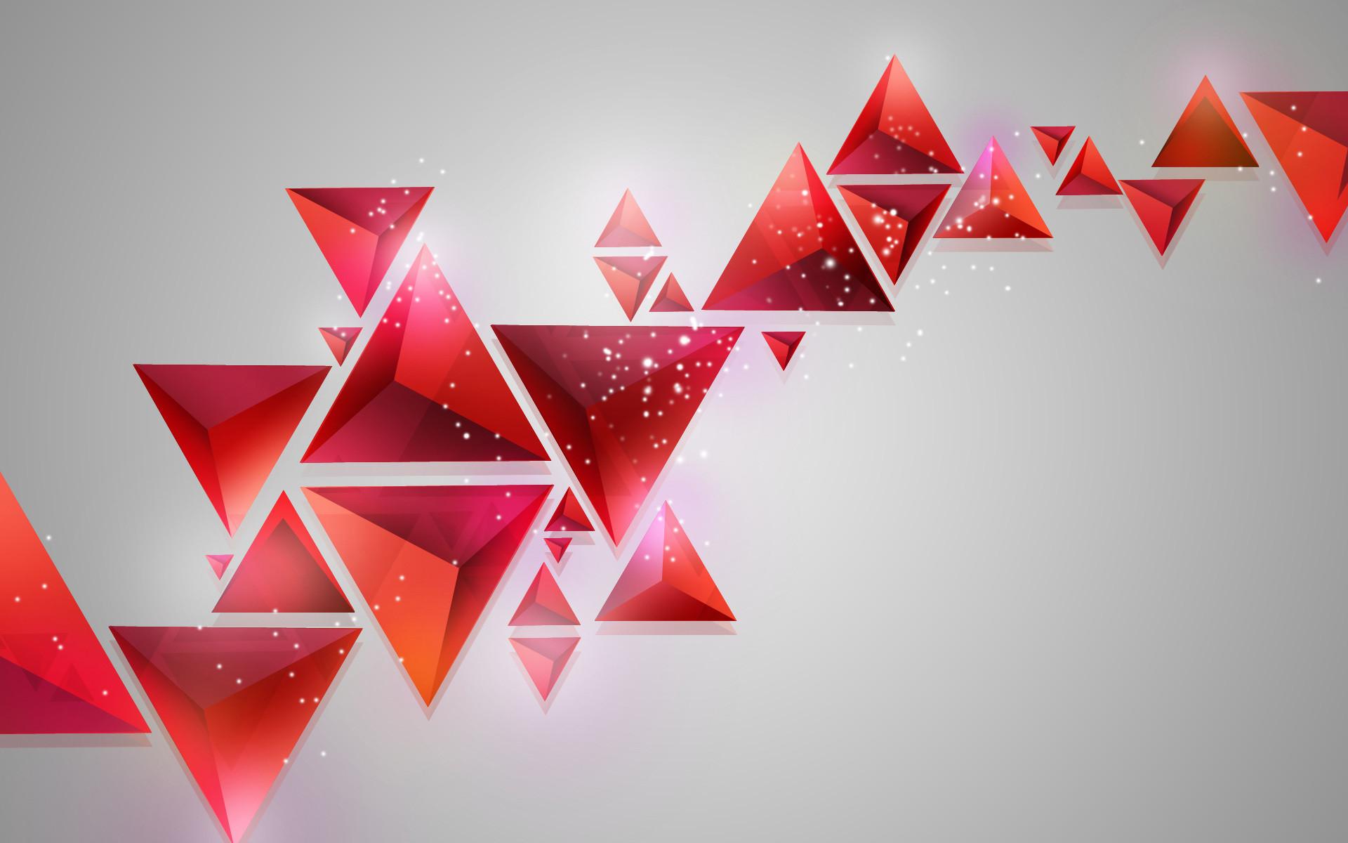 3d Geometric Triangle Wallpaper (10)