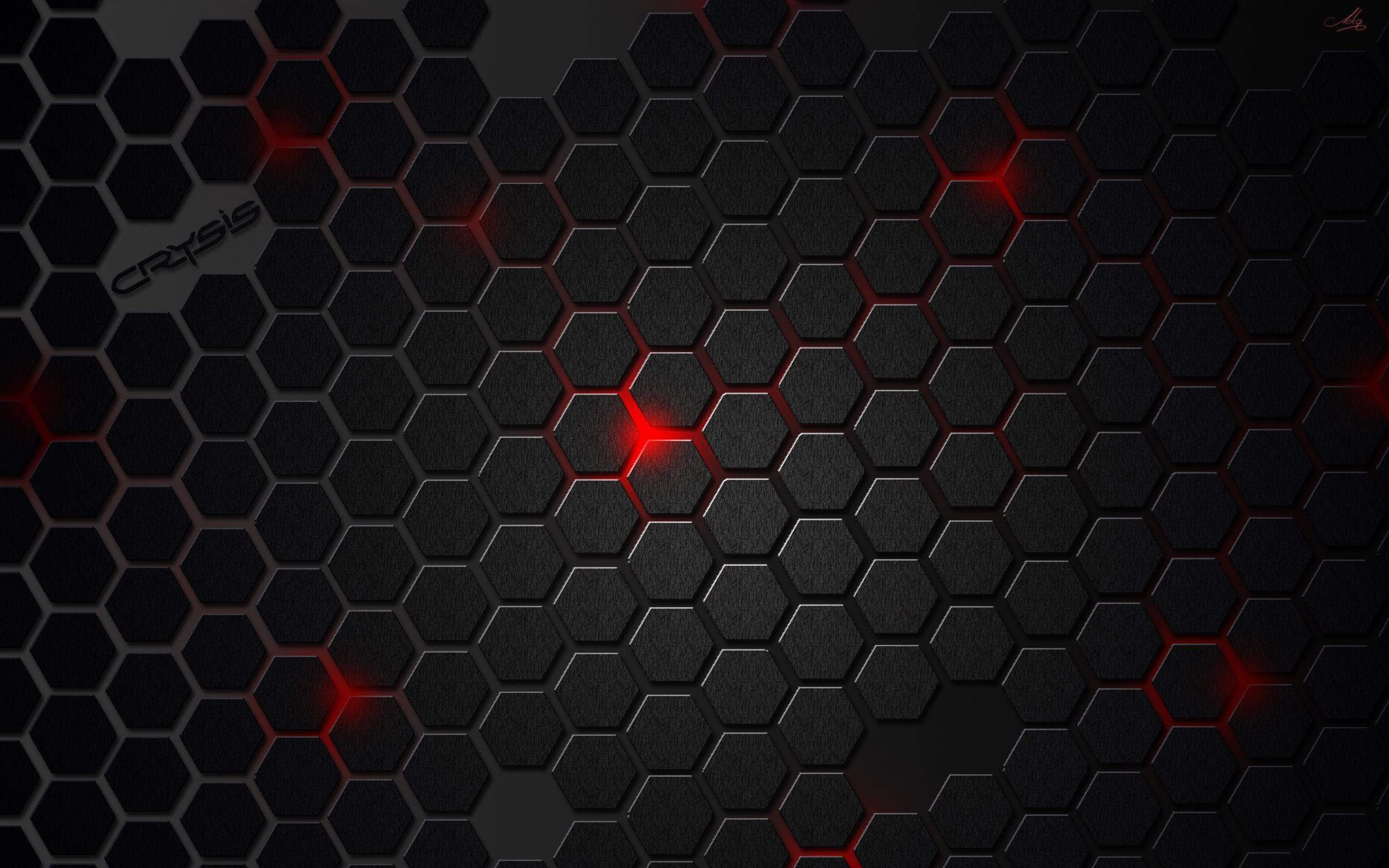 Red with Black Texture Wallpaper – WallpaperLepi