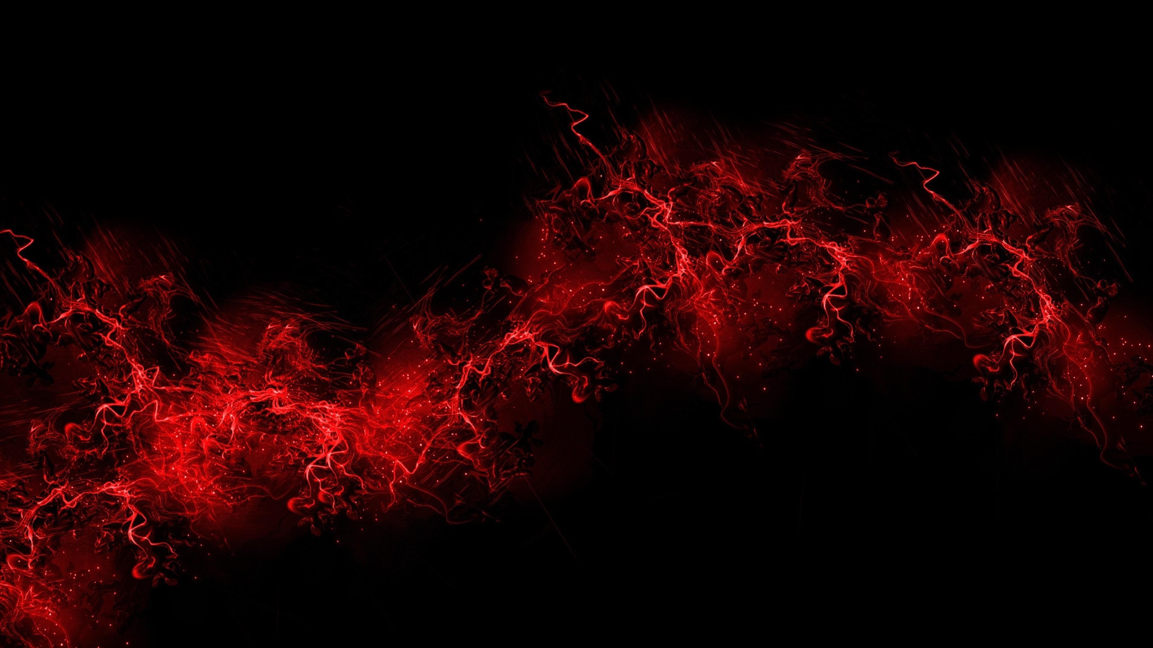 Wallpaper black background, red, color, paint, explosion, burst