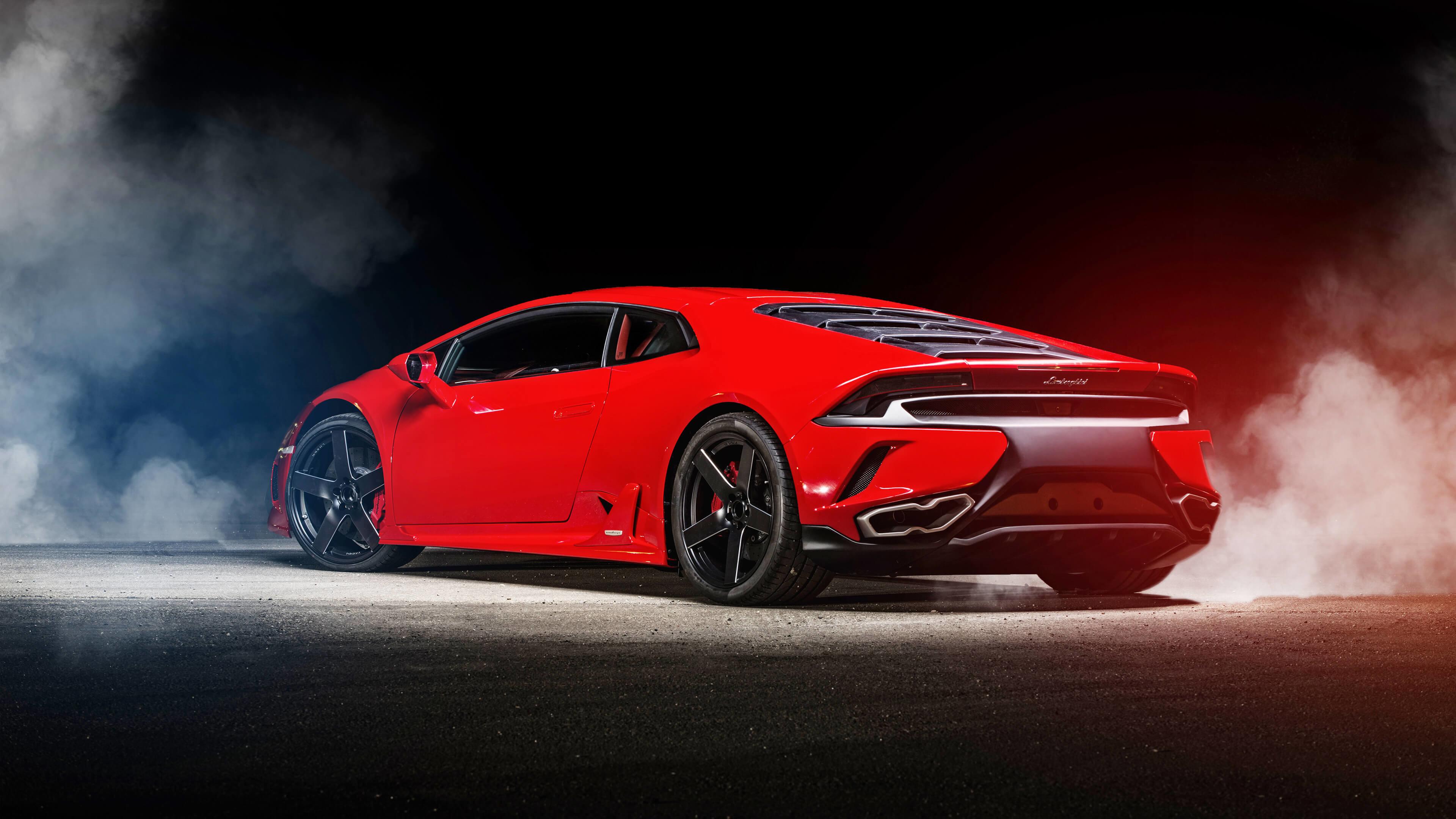 Red Lamborghini Huracan Uhd 4k Wallpaper