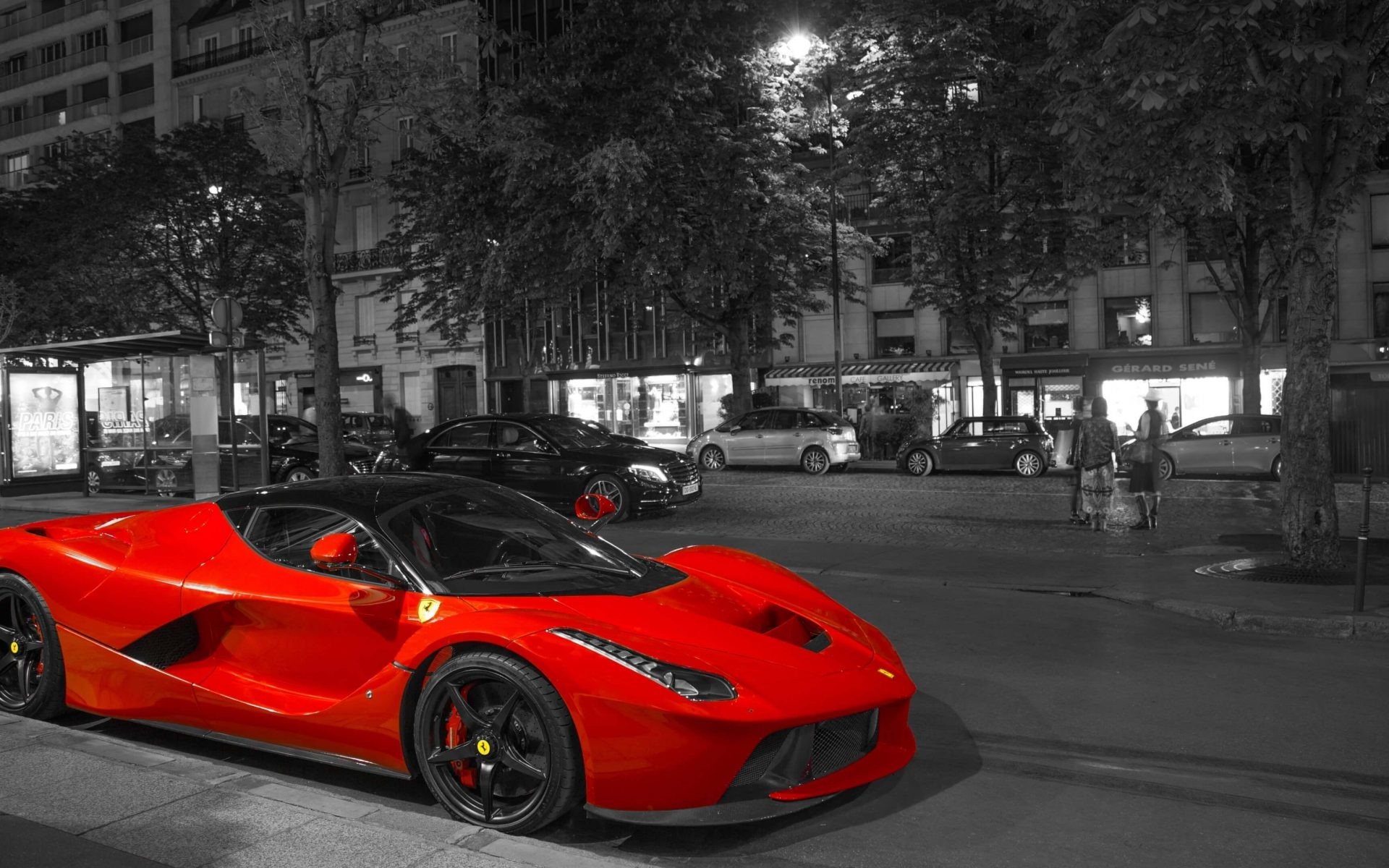 Ferrari LaFerrari Red Supercar 4K Wallpaper