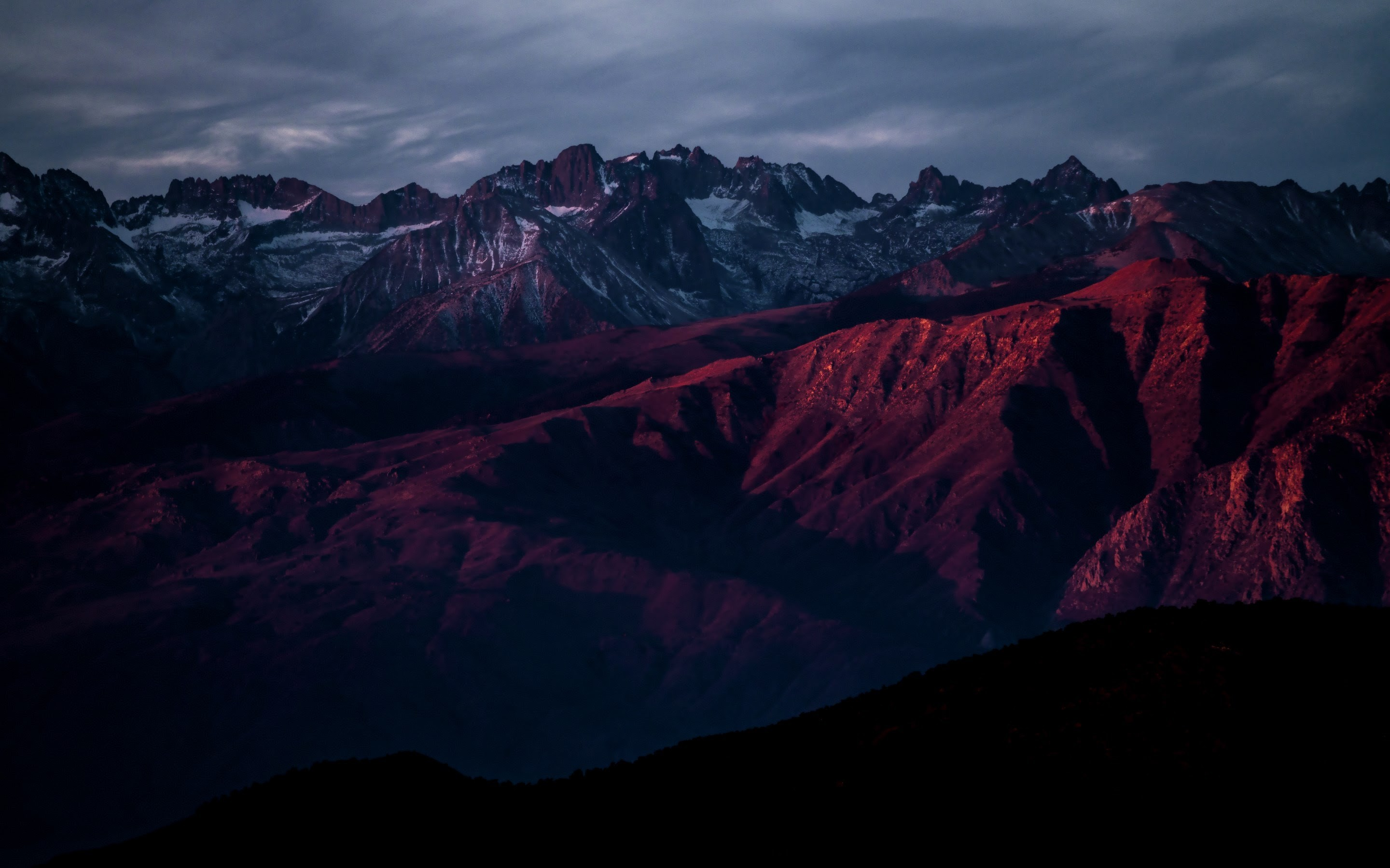 4K HD Wallpaper: The Red Landscape · Nature Photography by John Towner