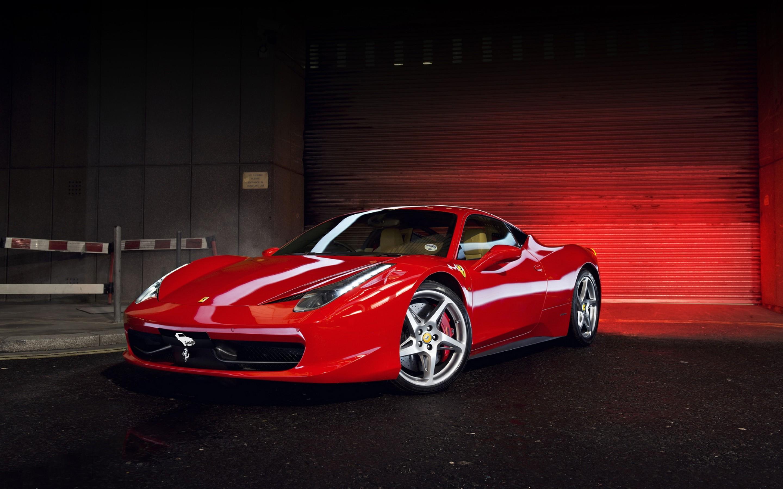 Red Ferrari 458 Italia 4k HD Wallpaper