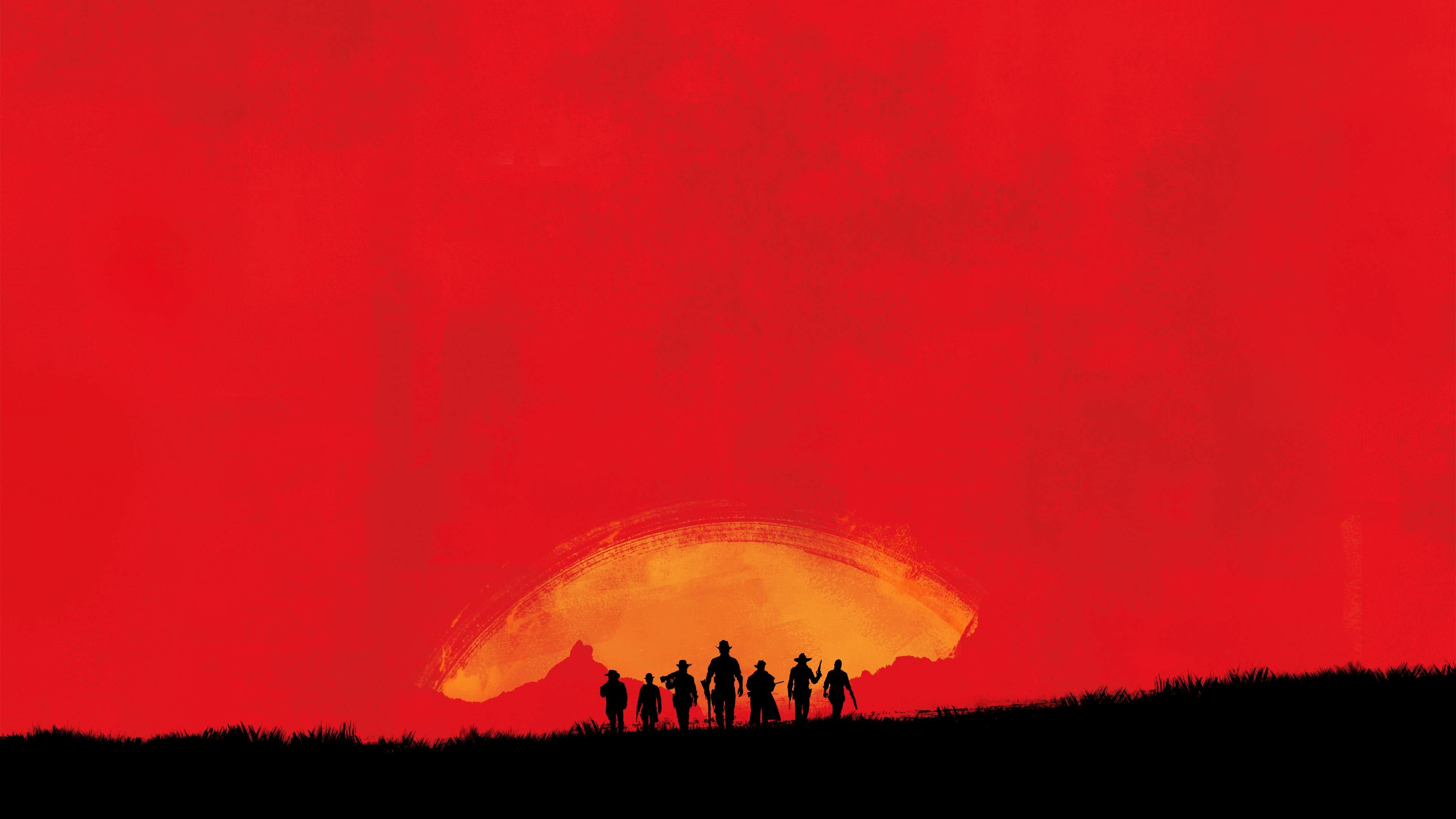 Red Dead 3 (4K Wallpaper) …
