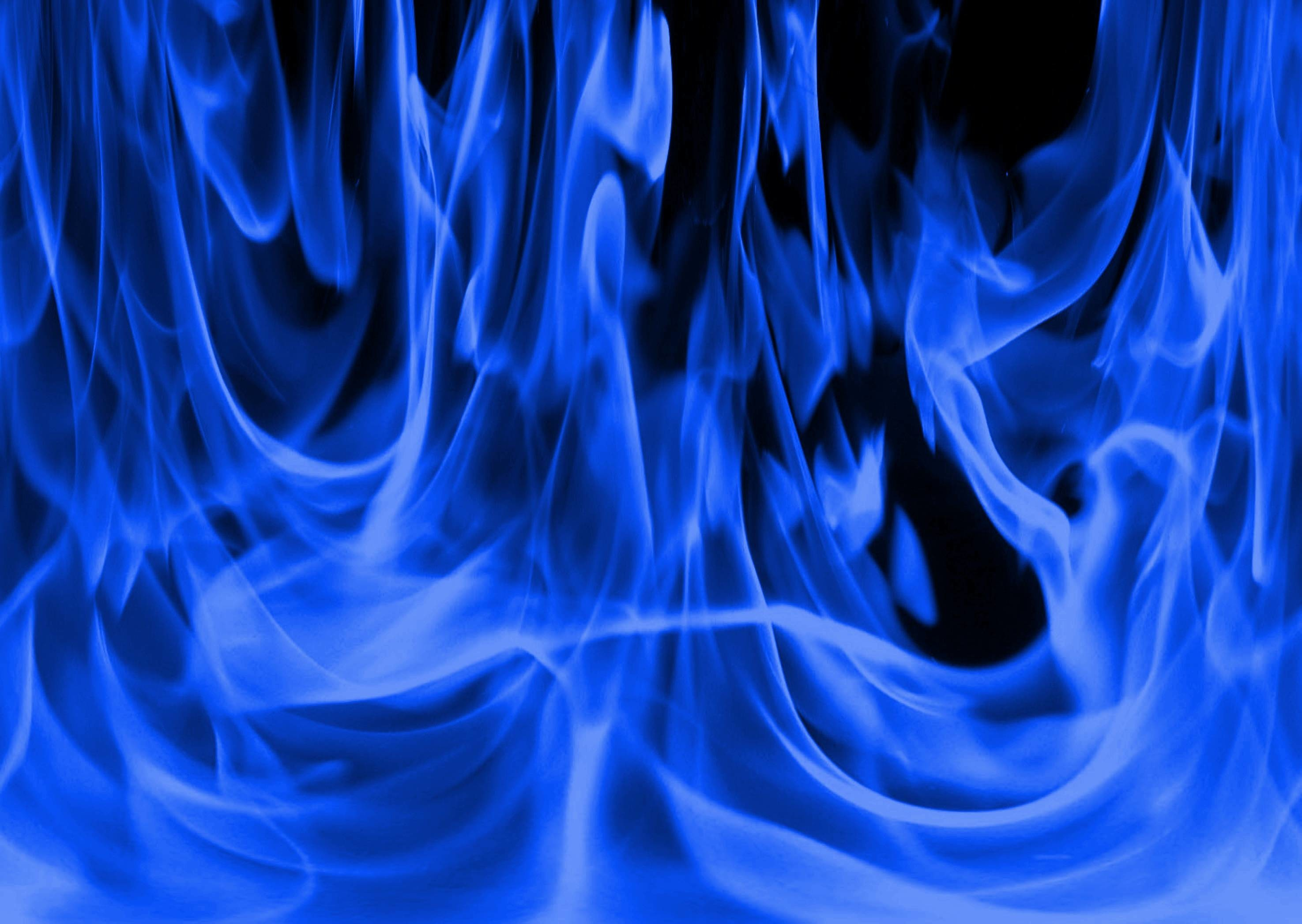 Blue And Red Fire Flames – Viewing Gallery