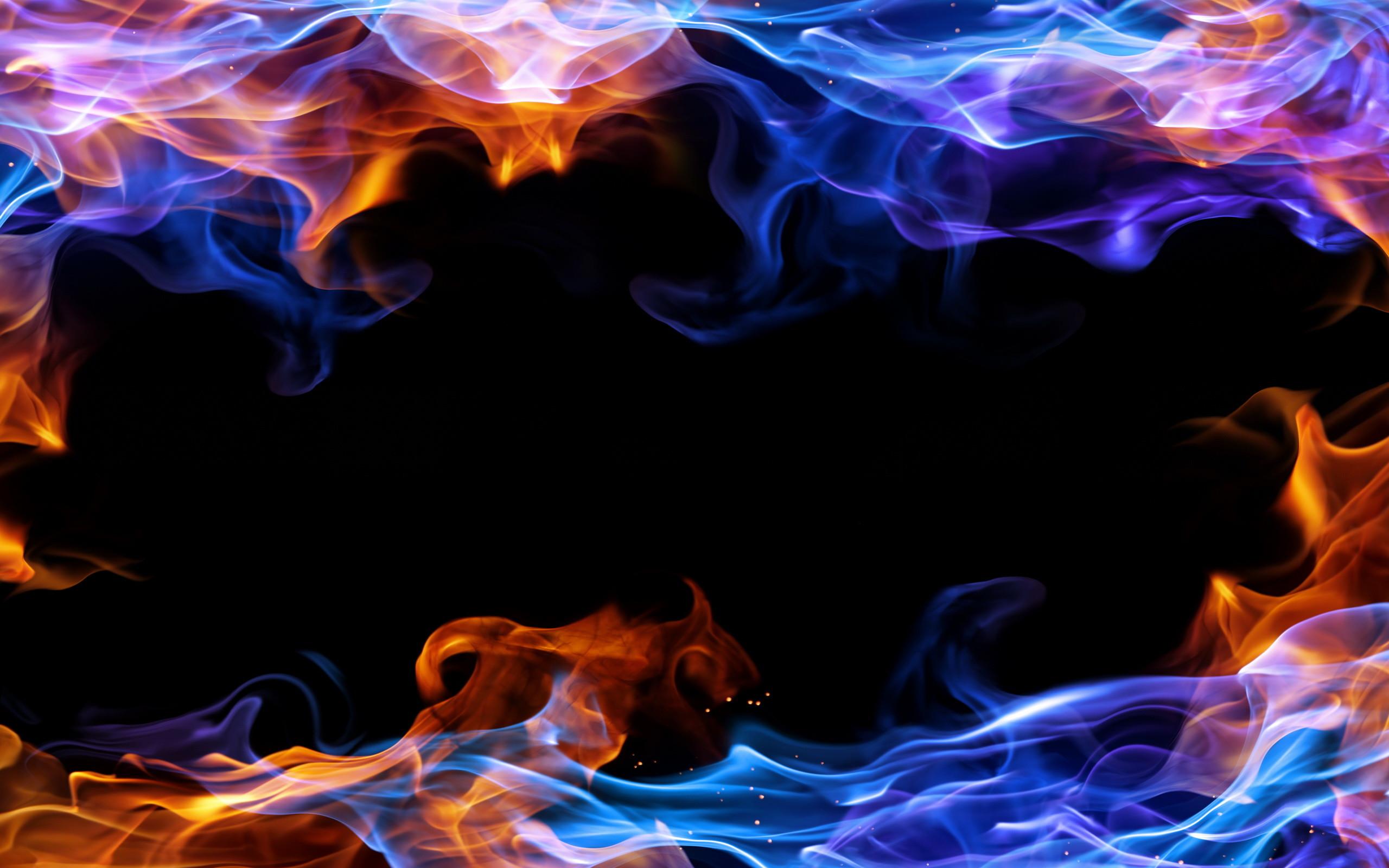 Fire frame background #3131