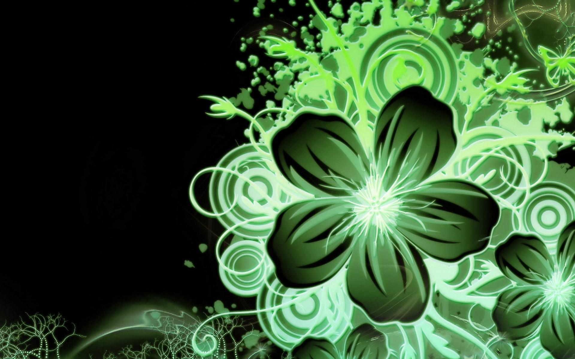 Multi Color Green Flower wallpapers   Multi Color Green Flower stock .