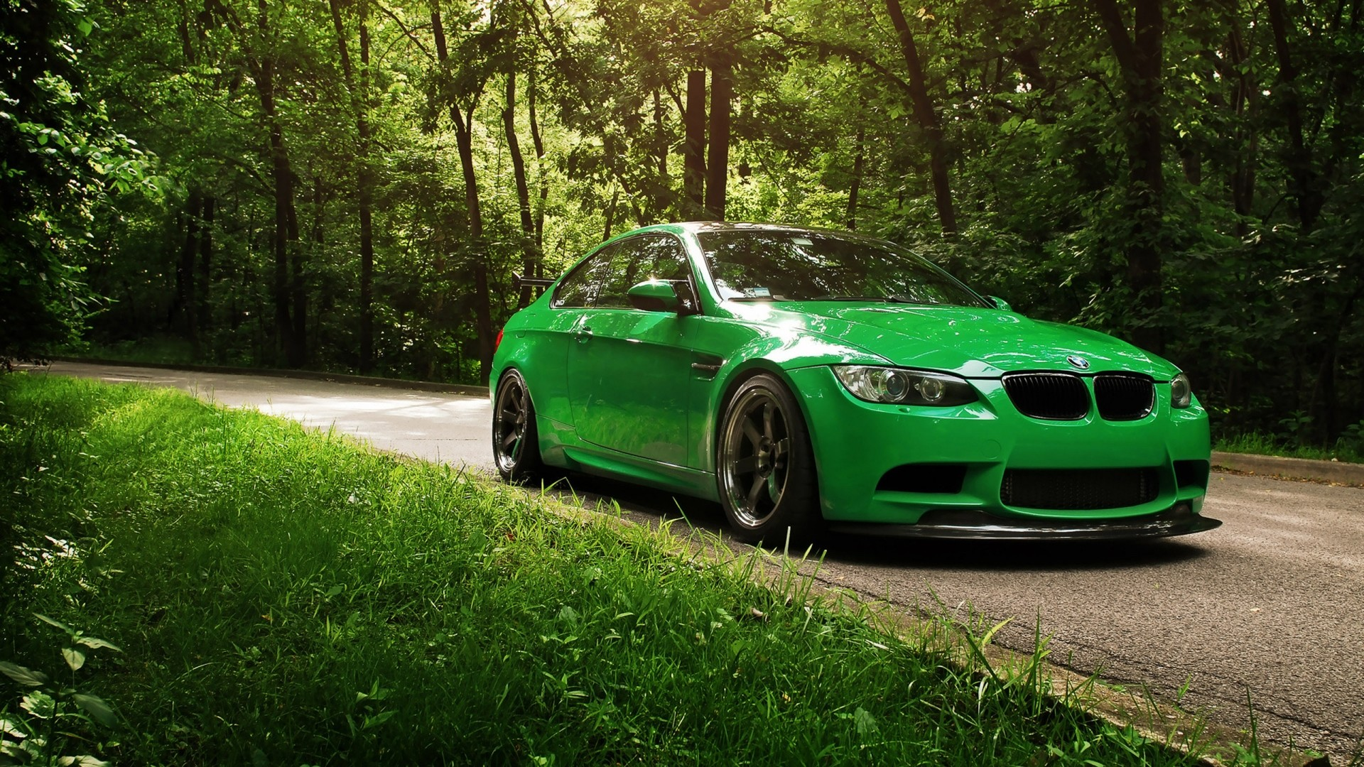 Beautiful Green Color BMW [1920 1080]