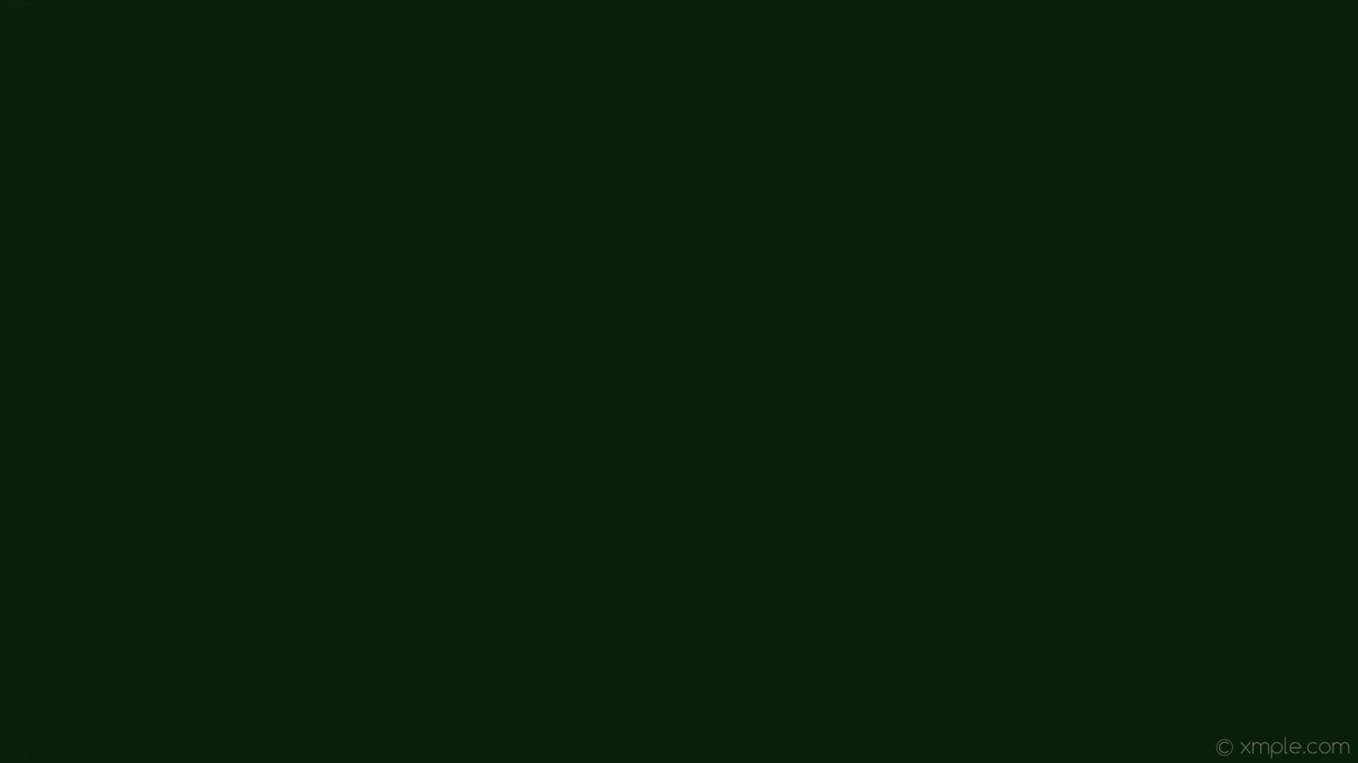 wallpaper green single one colour solid color plain dark green #0a1f09