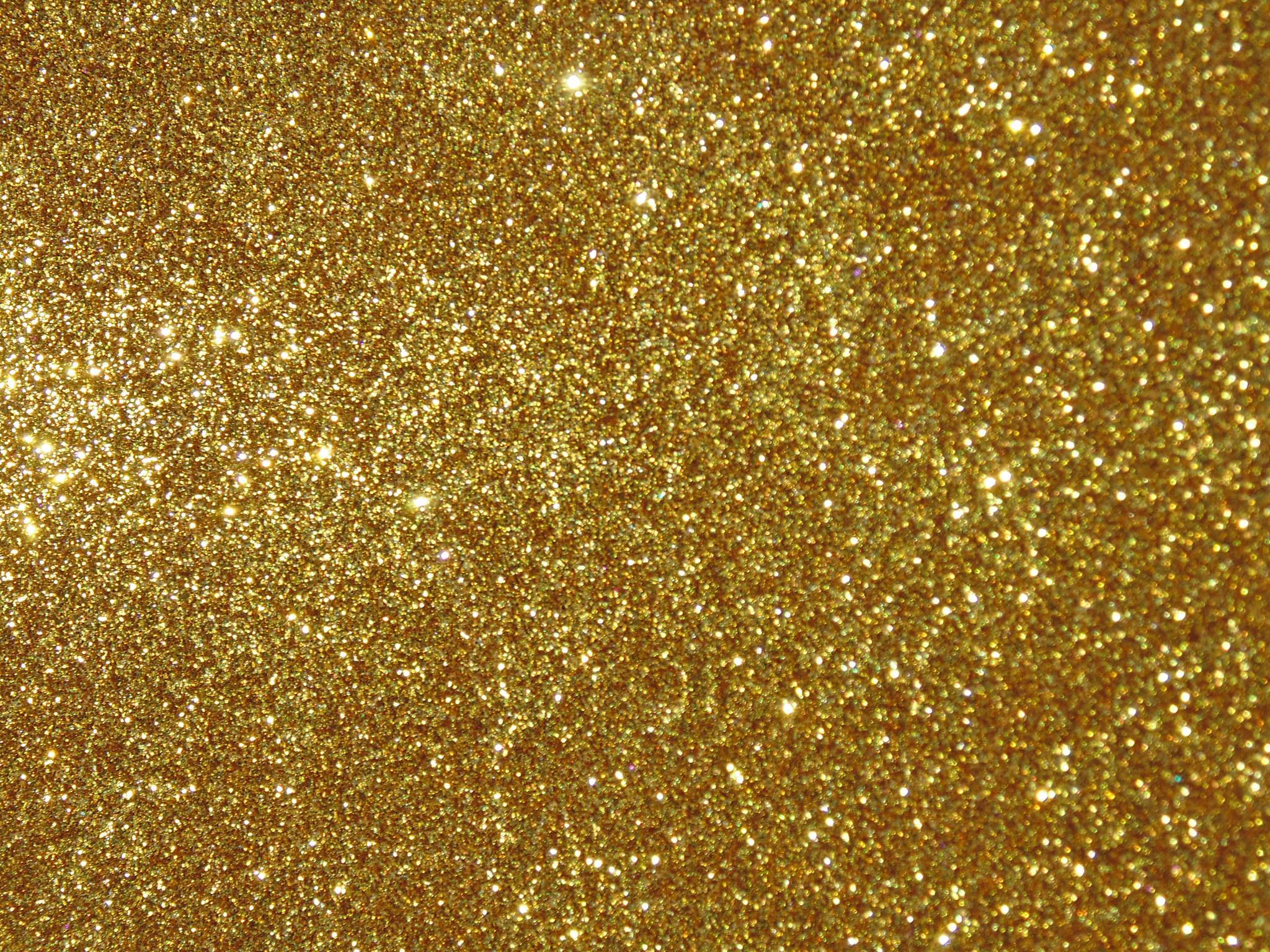 Gold Glitter Wallpaper HD Pictures Desktop.