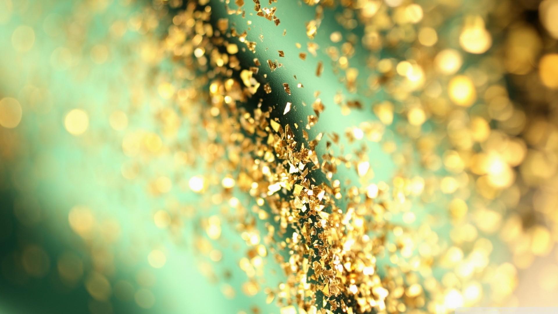 Gold Glitter Wallpaper For Desktop