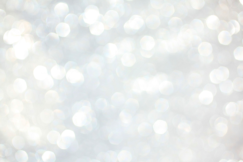 White Glitter Background