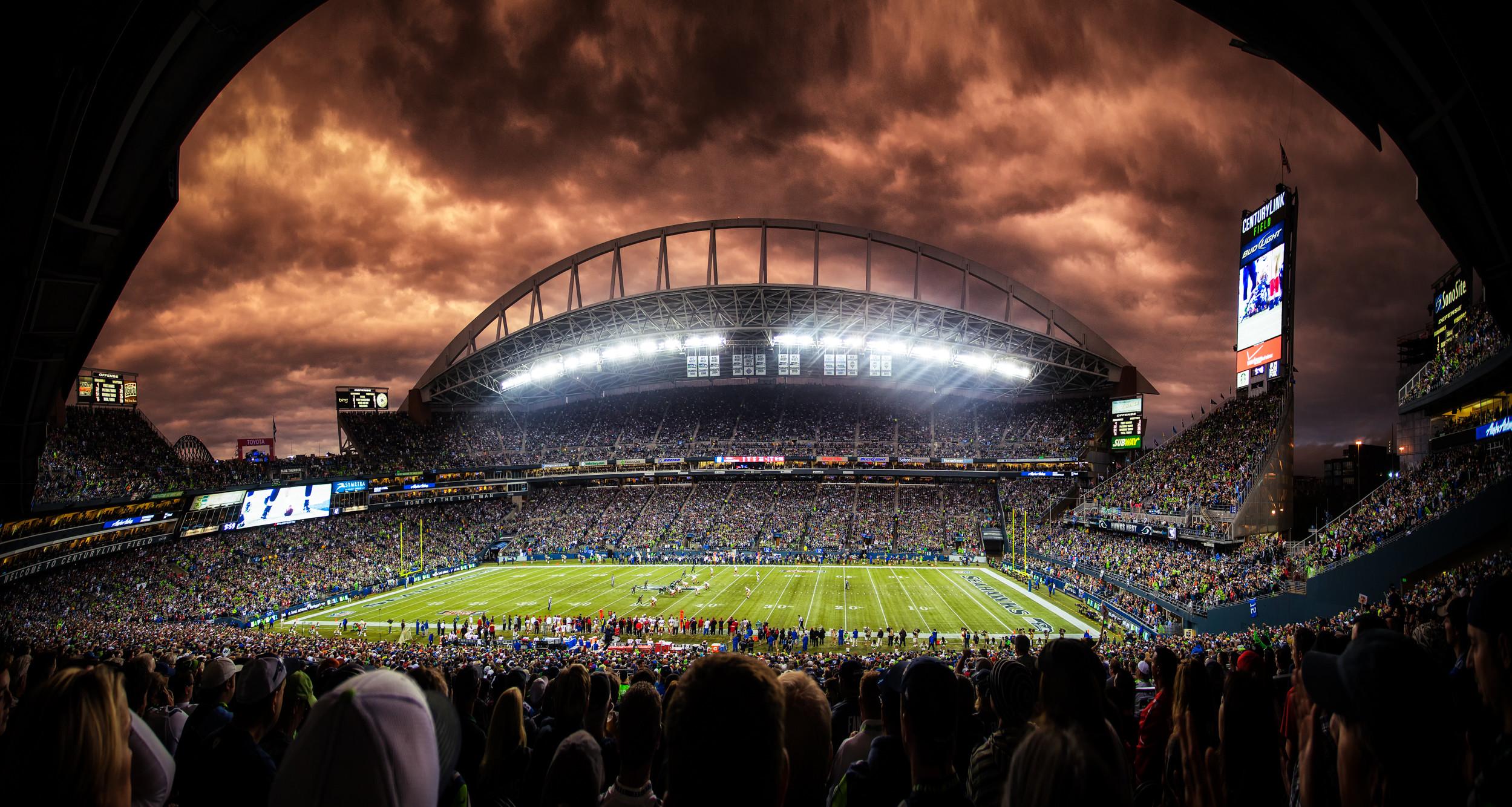 Century Link Field Seattle Seahawks Stadium at Washington.