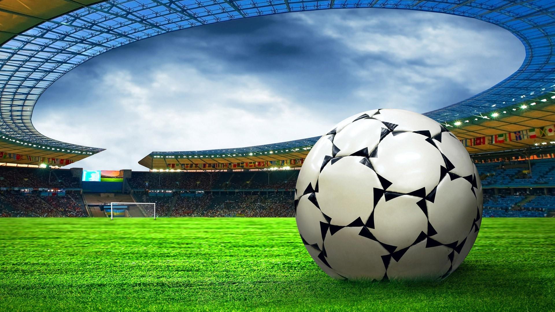 Football Stadium HD Wallpaper
