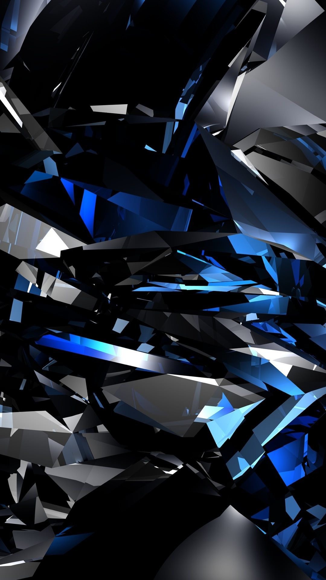 The blue-black pattern Cool Android SmartPhone Wallpaper