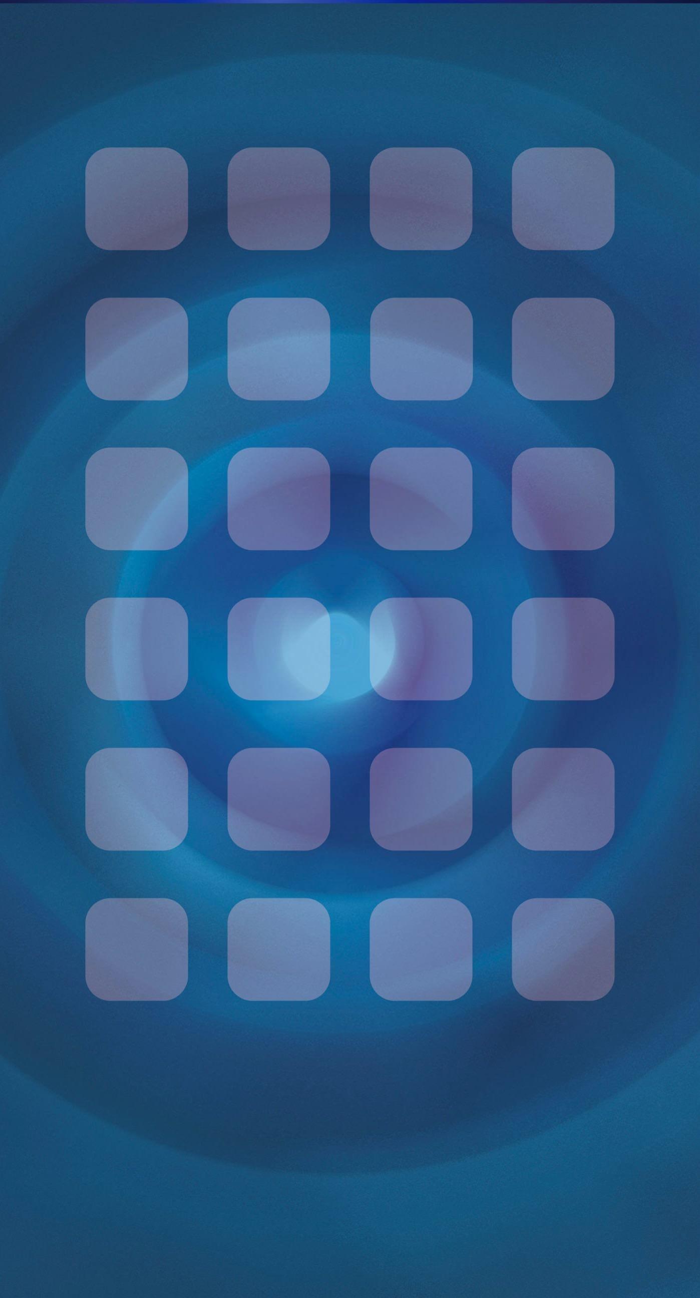 Shelf cool blue swirl pattern iPhone7 Plus Wallpaper