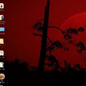 Red Wallpaper Windows 10