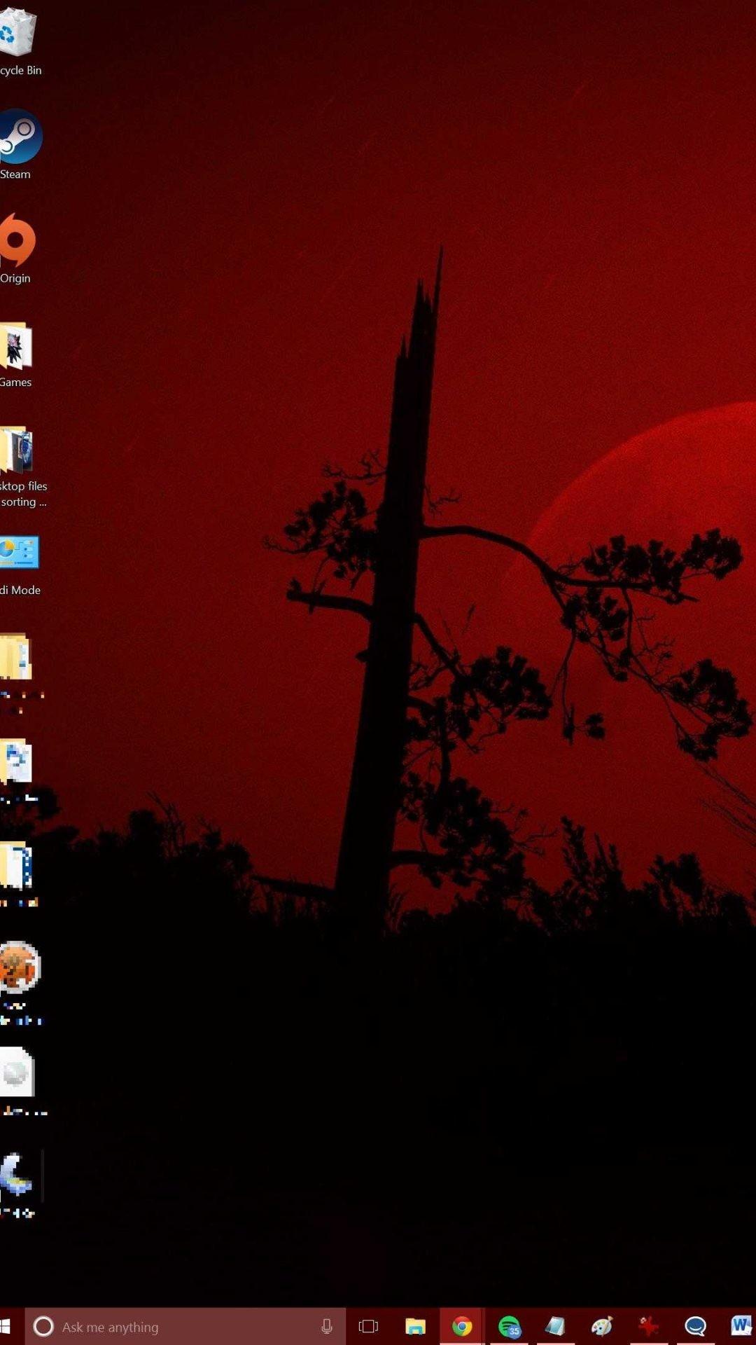 dual monitor different wallpaper windows 10