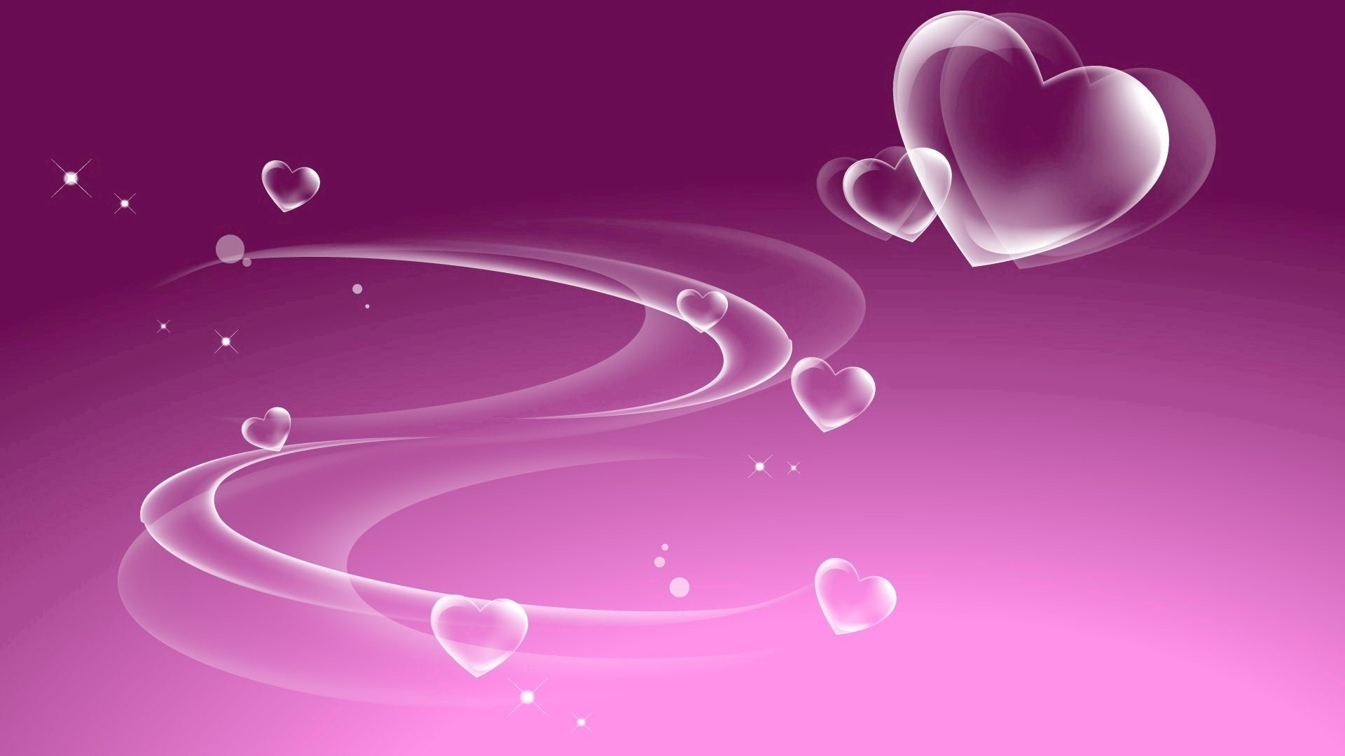 White Heart in Purple Background | HD Wallpapers