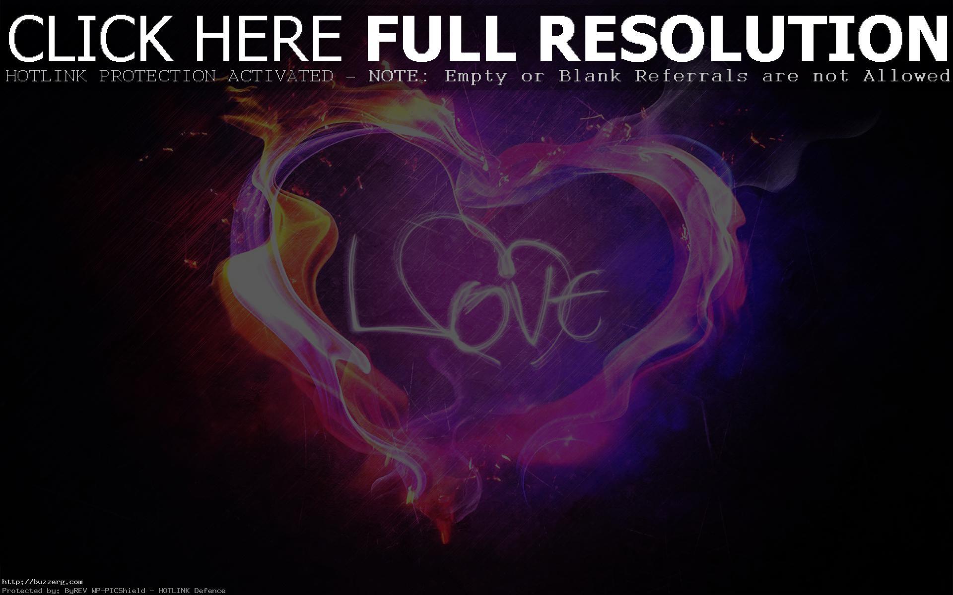 Purple Love Heart (id: 22531)