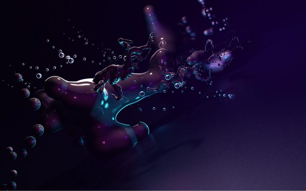 Abstract – Purple Wallpaper