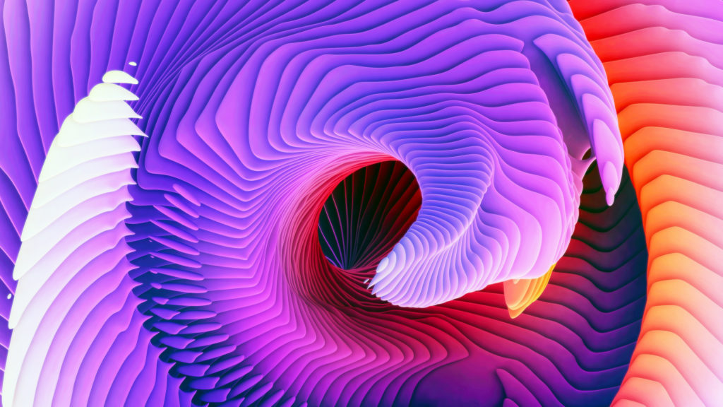 Spiral, Purple, HD