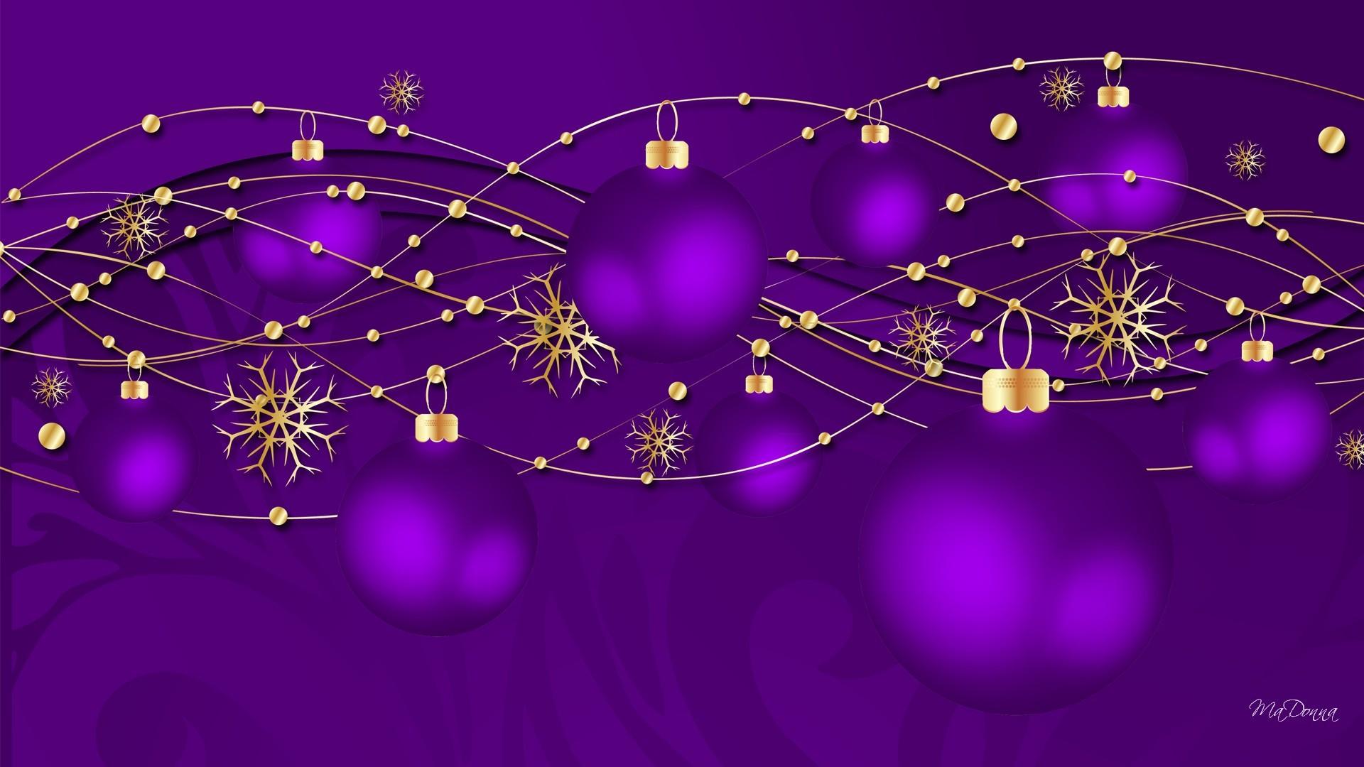 Purple Luxury Wallpaper