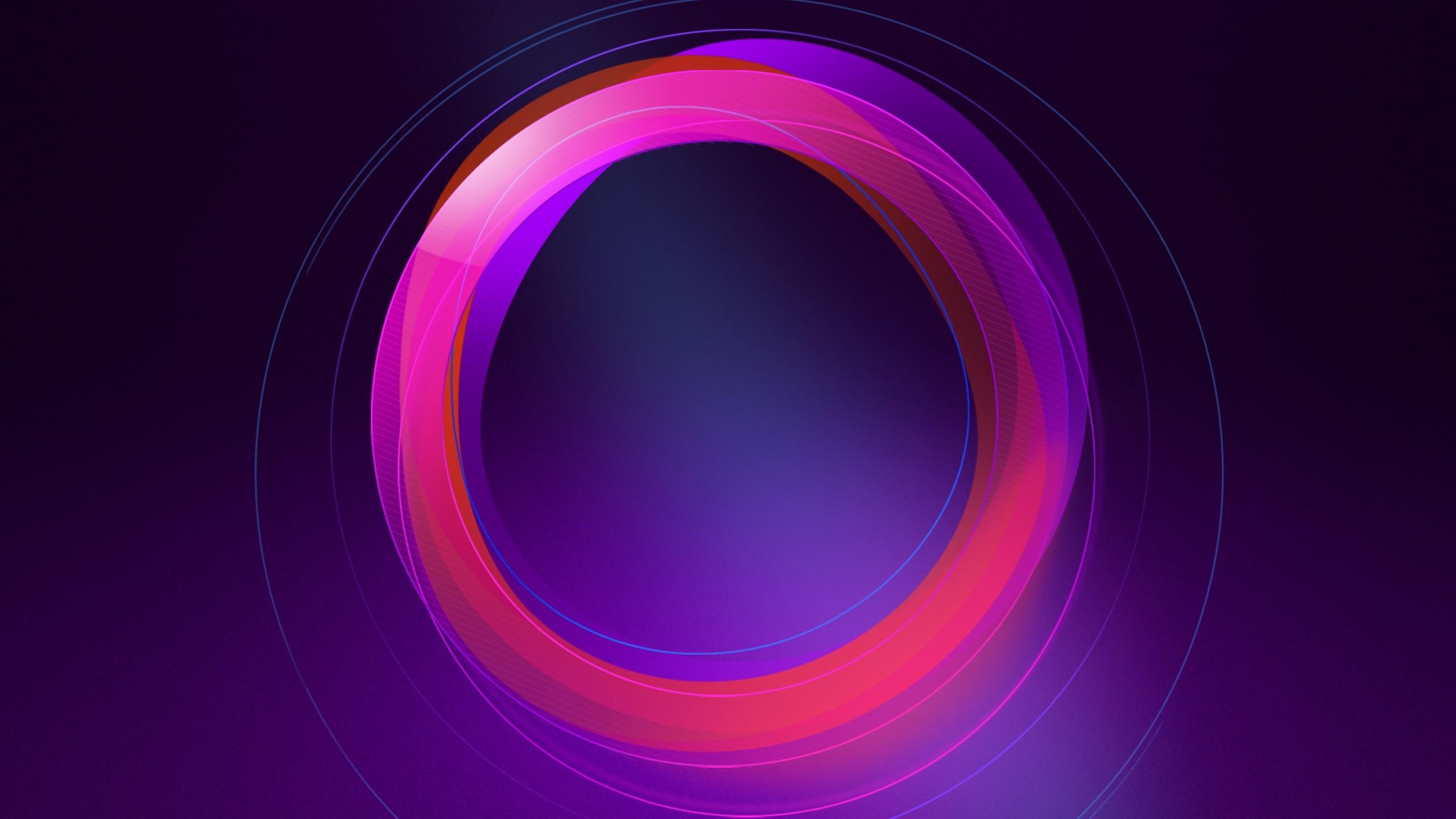 Abstract / Circles Wallpaper. Circles, Pink, Purple, HD