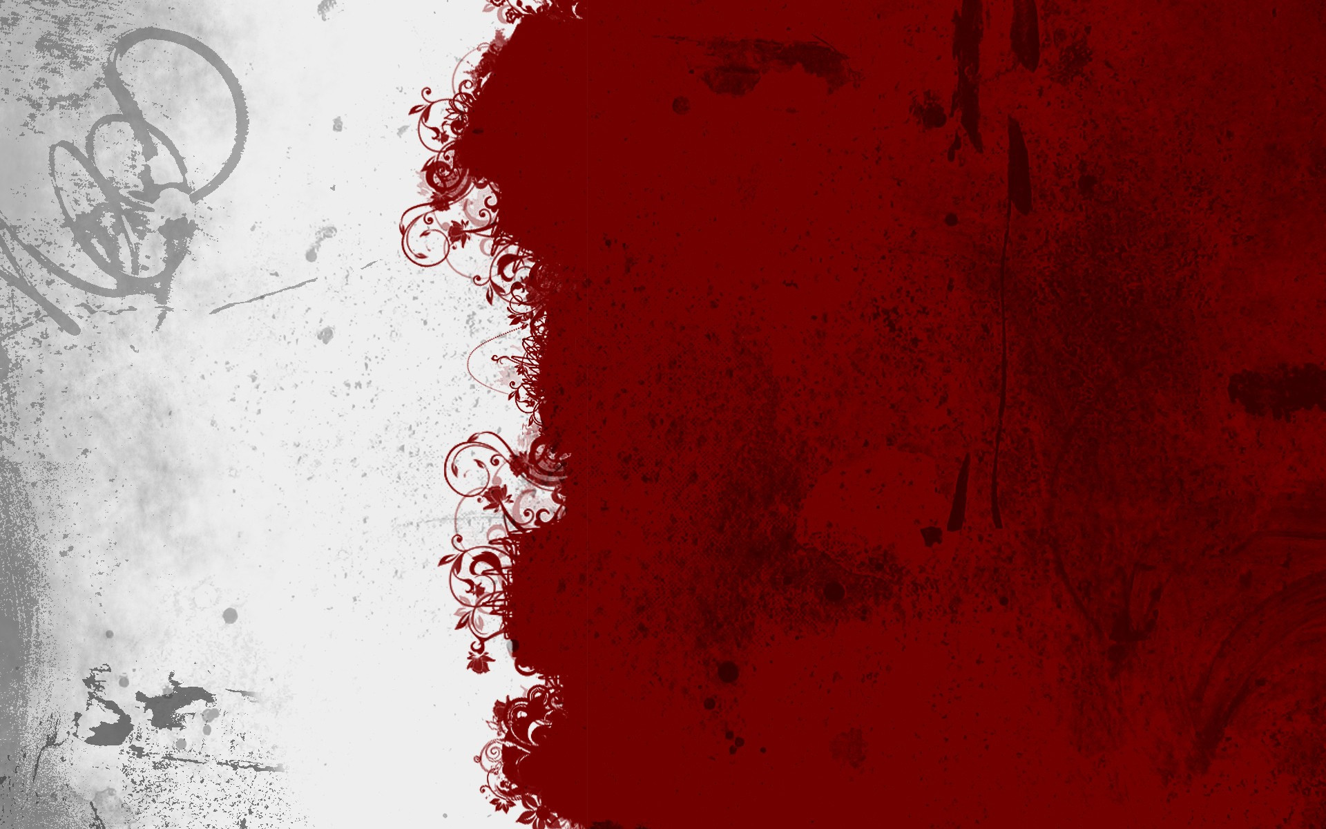 … Red and white grunge texture HD Wallpaper 1920×1200