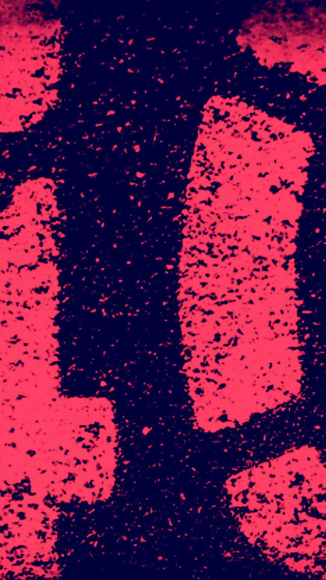 Red Art Paint Grunge Illustration iPhone 6 wallpaper