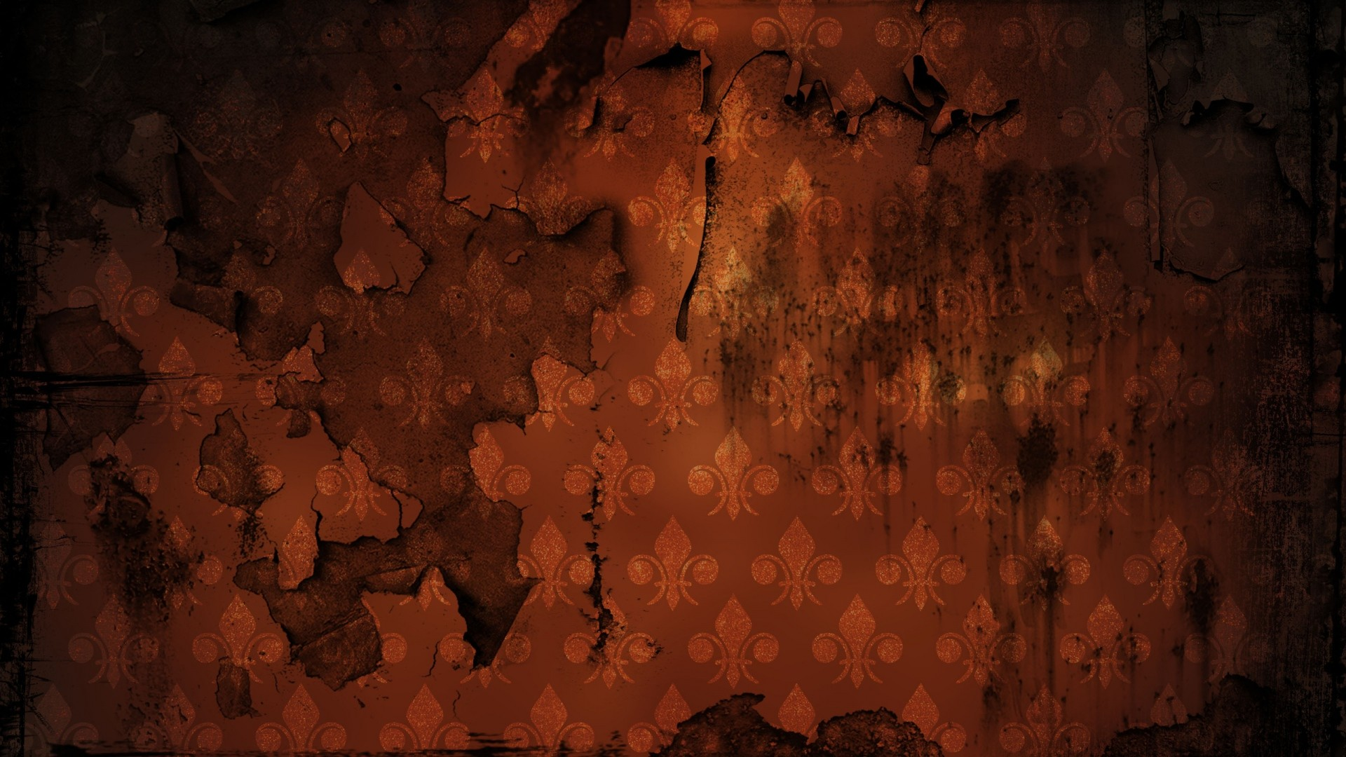 Preview wallpaper grunge, wall, scratches, patterns 1920×1080