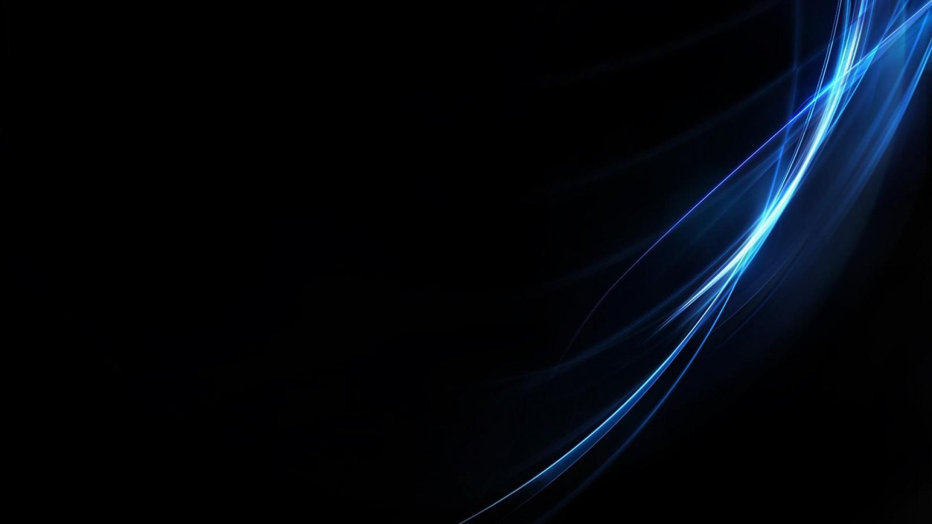 Black and Blue Desktop Wallpaper