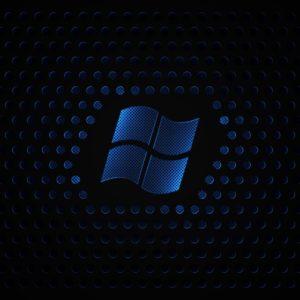Black and Blue Desktop