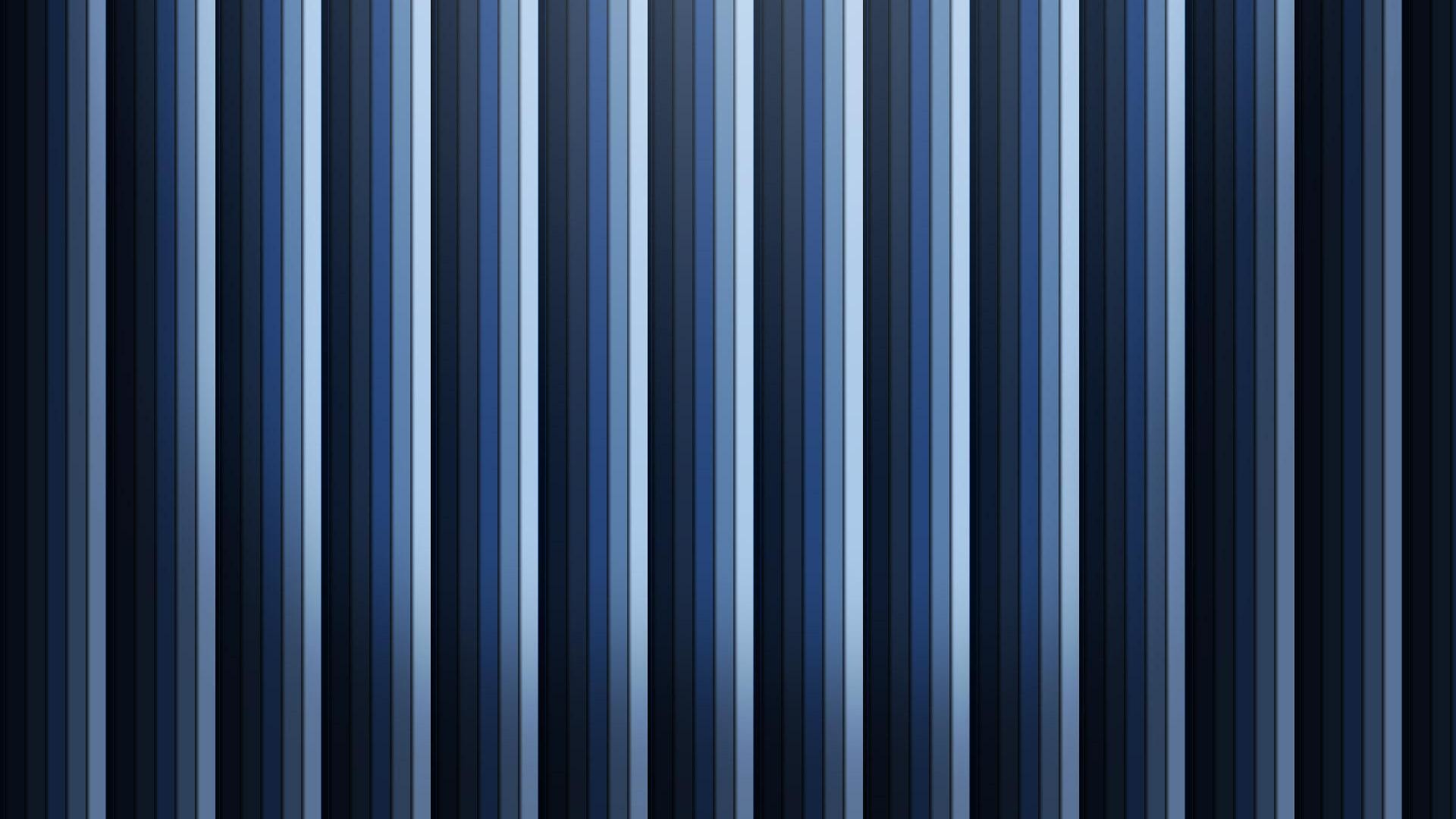 | Black and Blue Striped Wallpaper